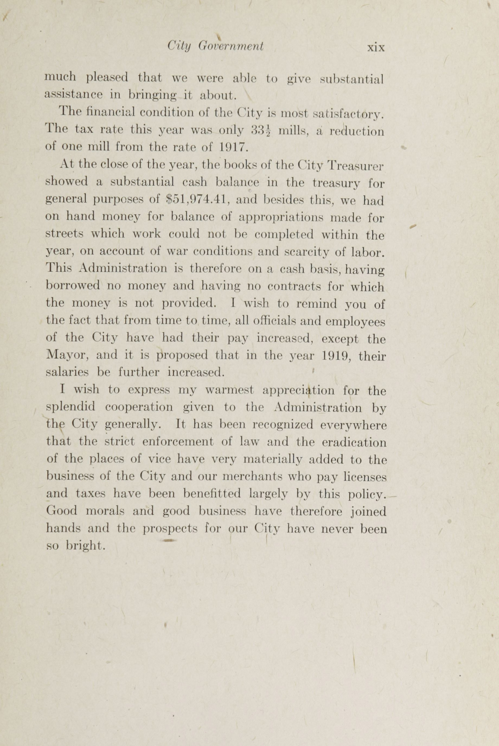 Charleston Yearbook, 1918, page xix