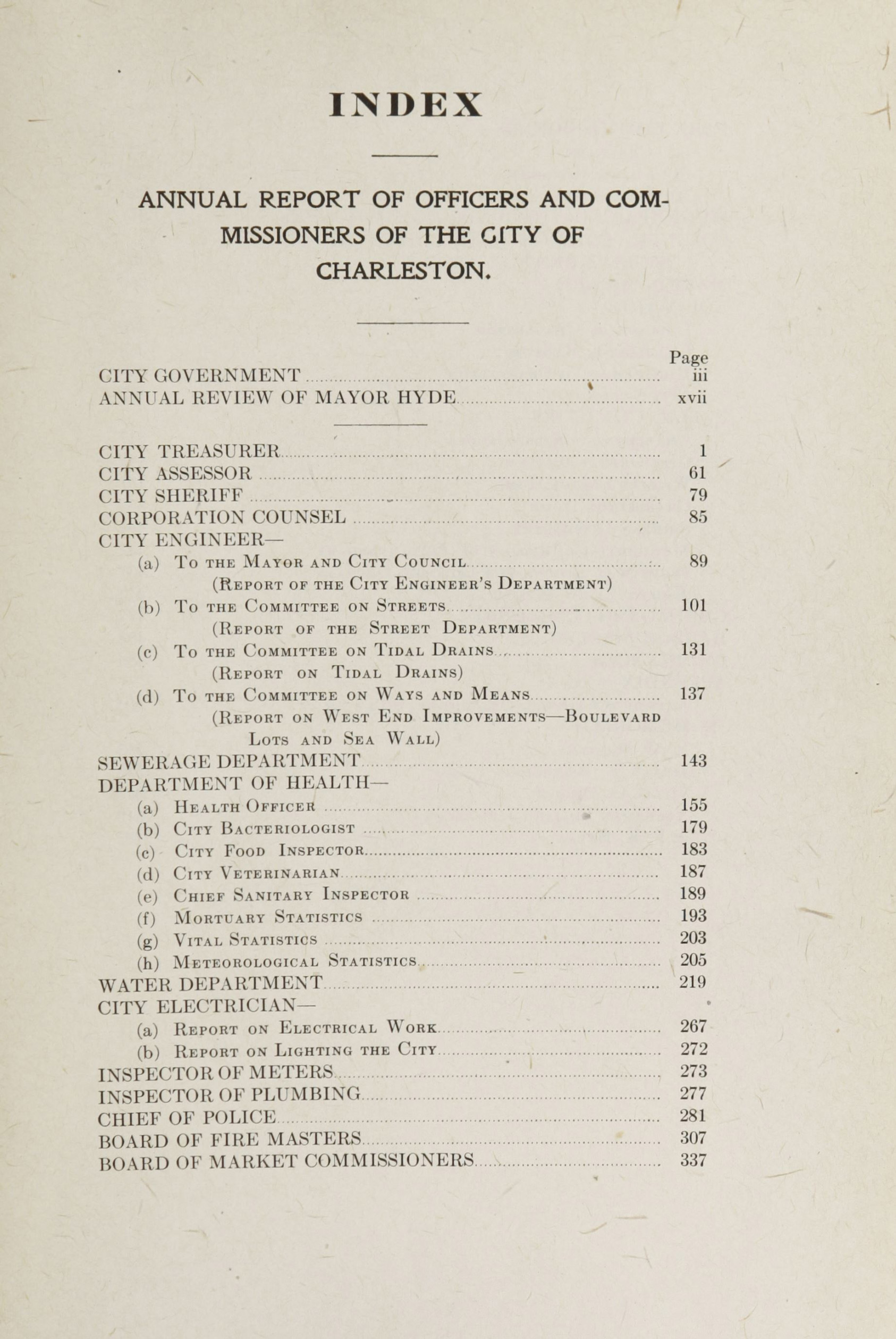 Charleston Yearbook, 1918, page xxi