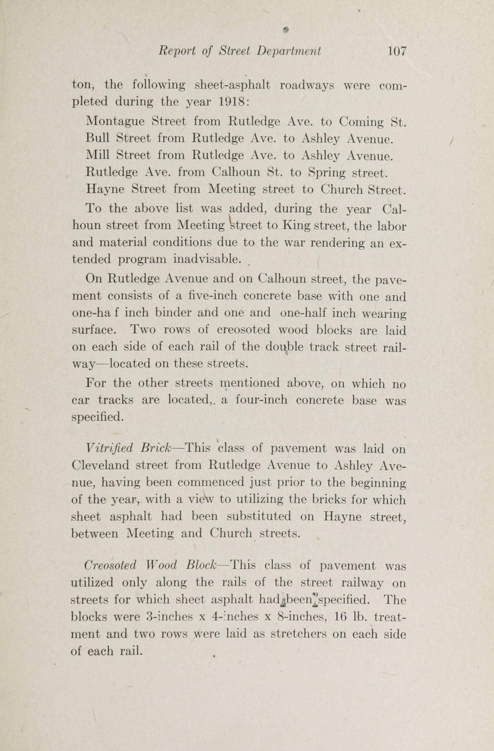 Charleston Yearbook, 1918, page 107