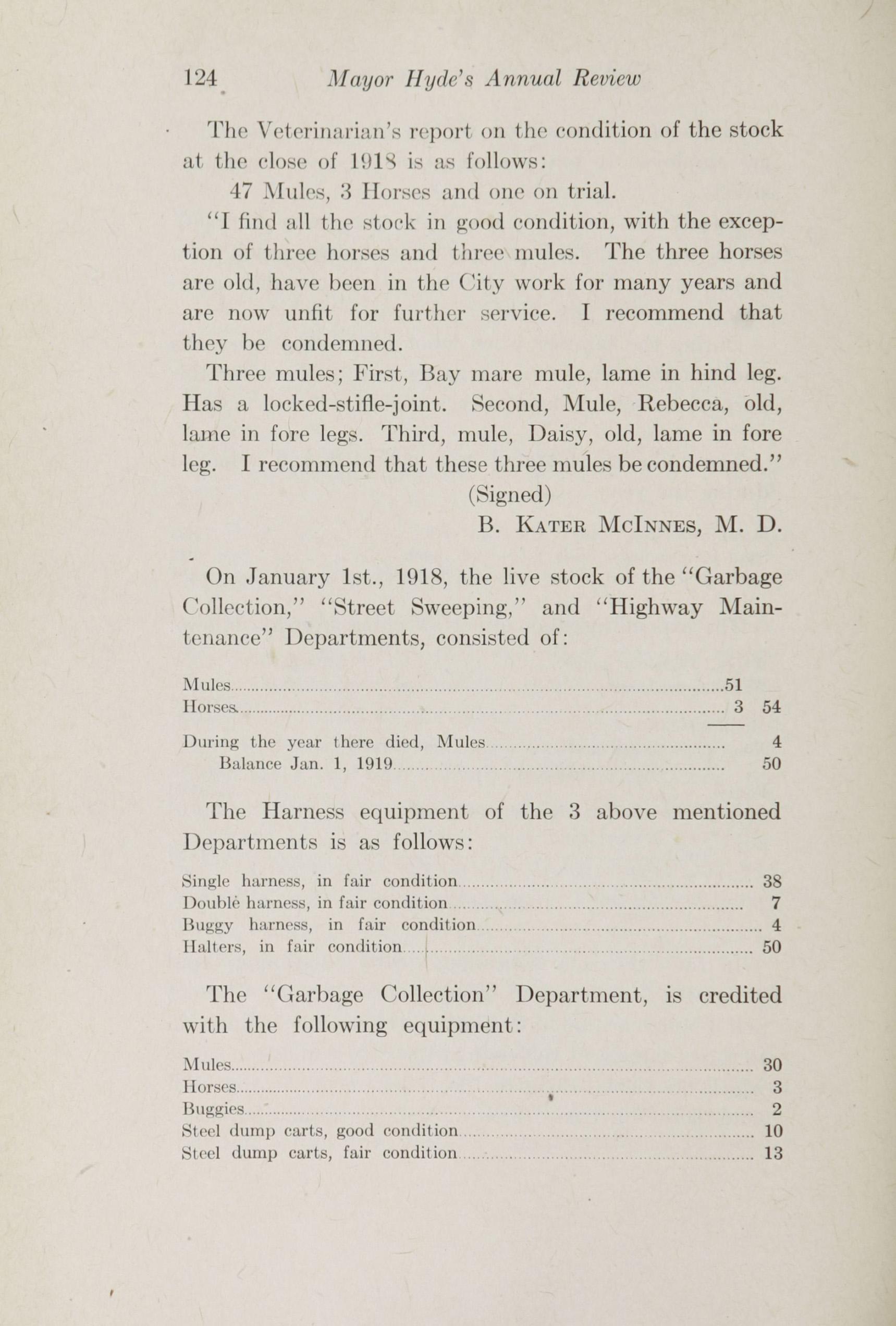 Charleston Yearbook, 1918, page 124