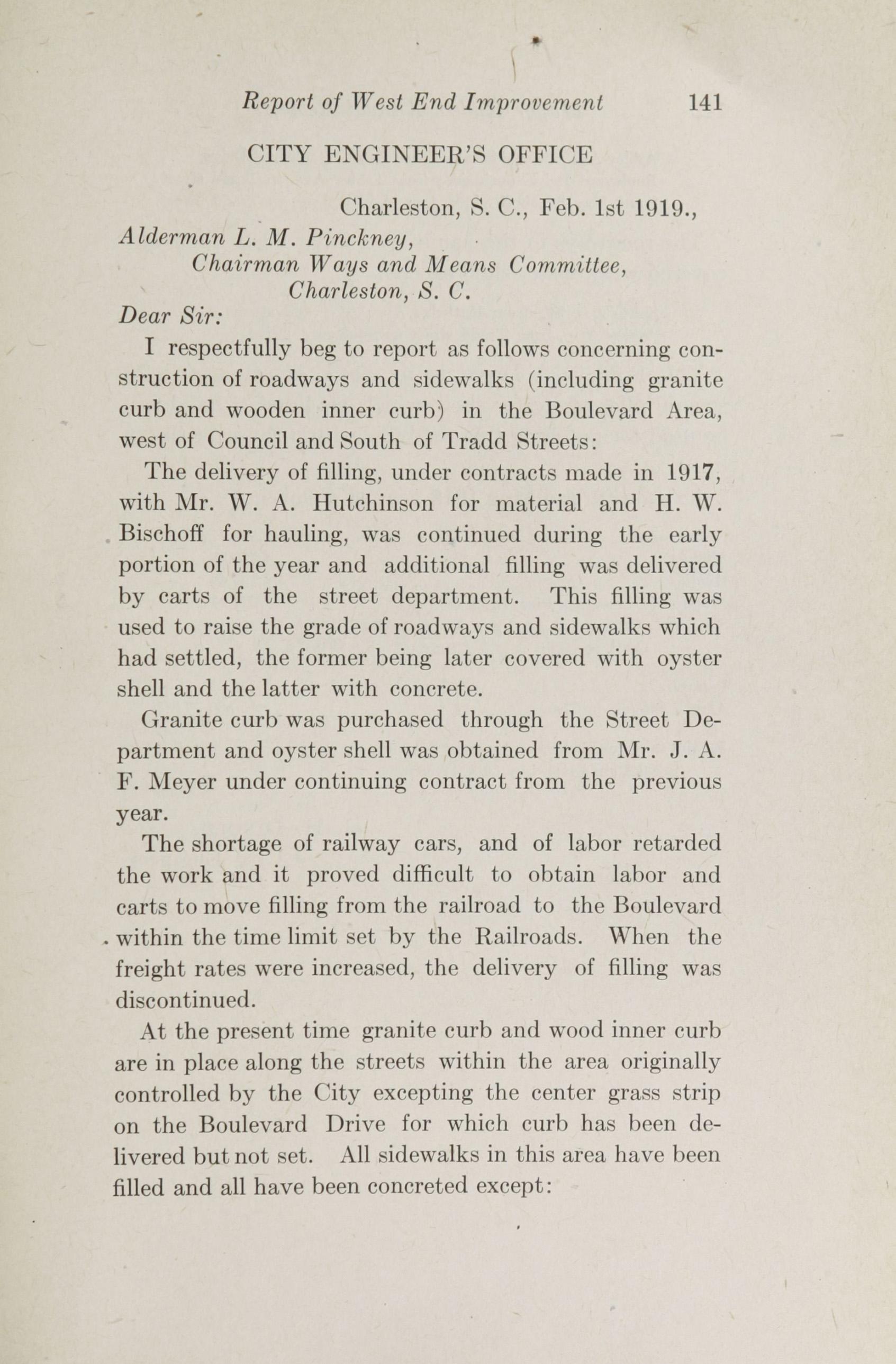 Charleston Yearbook, 1918, page 141