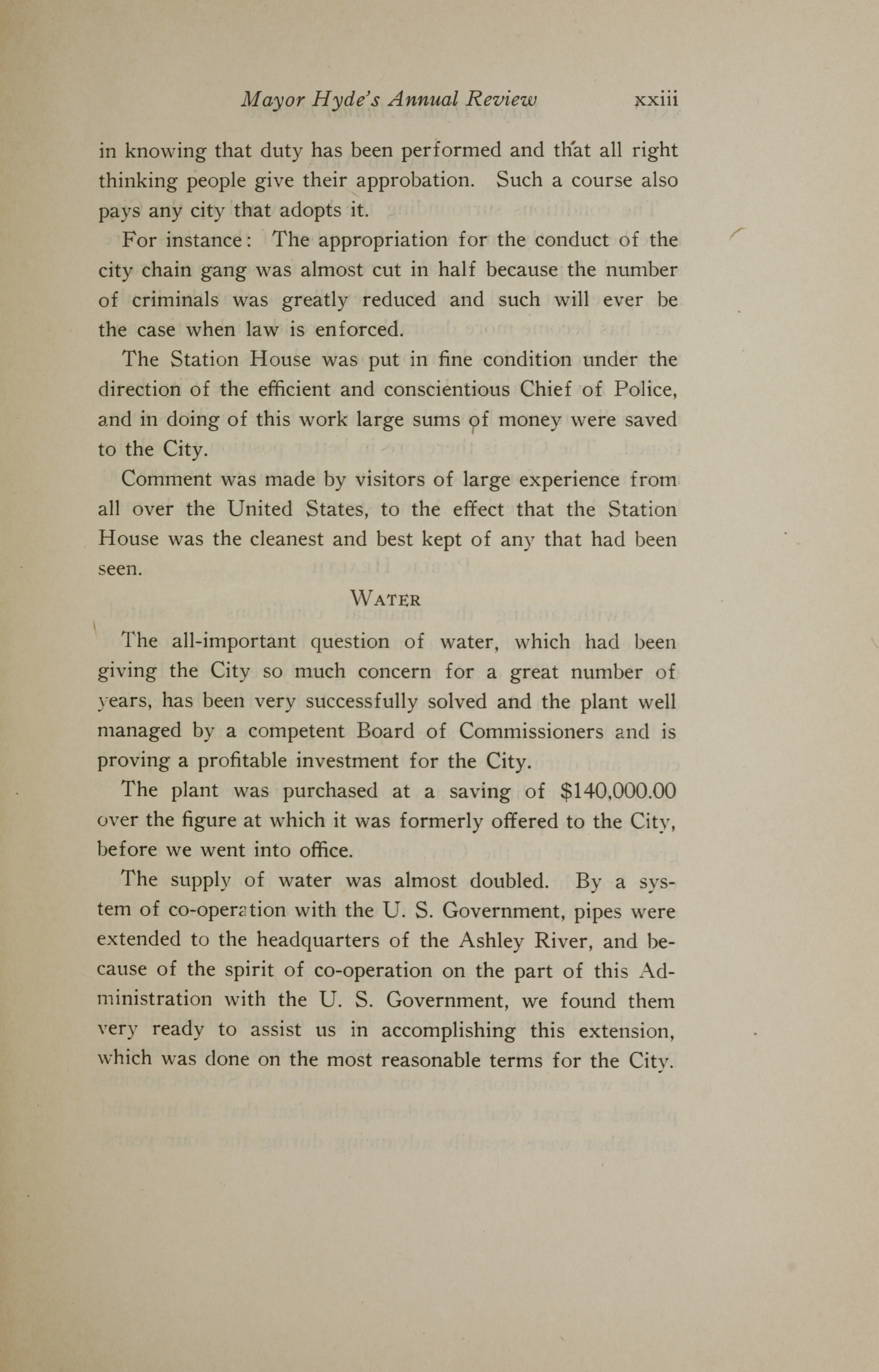 Charleston Yearbook, 1919, page xxiii