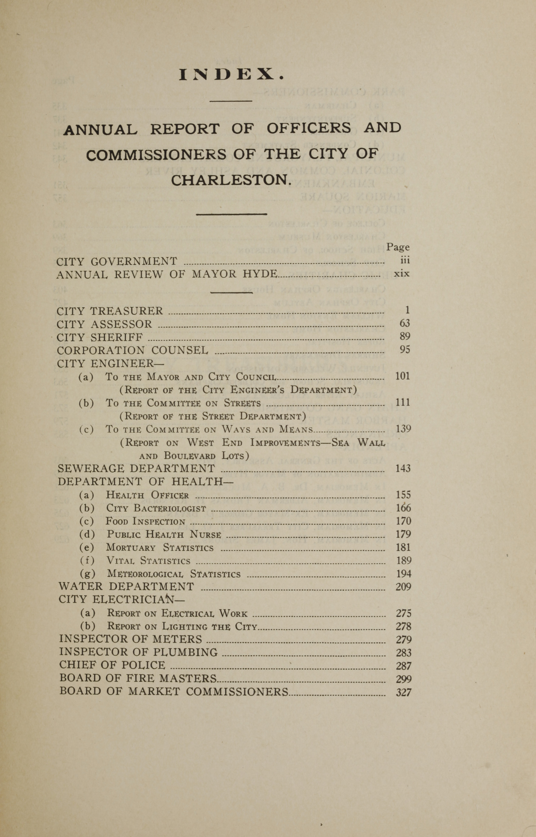 Charleston Yearbook, 1919, page xxvii