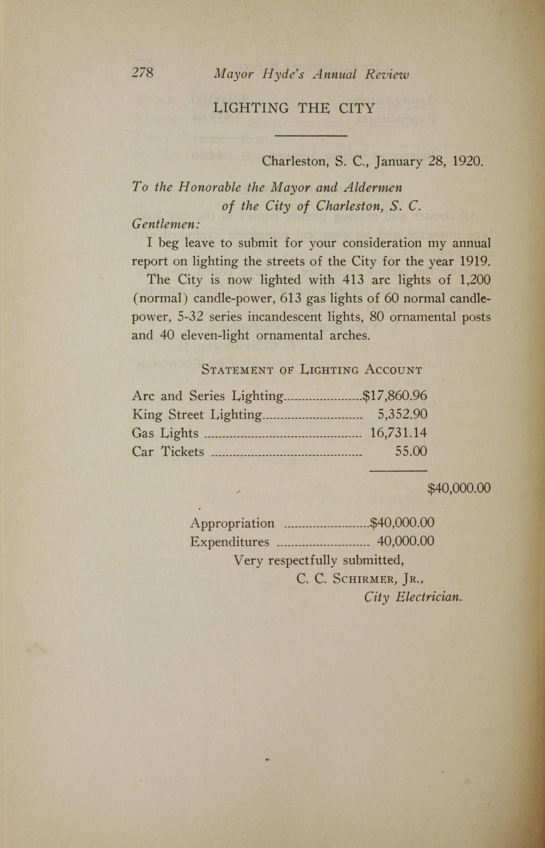Charleston Yearbook, 1919, page 278