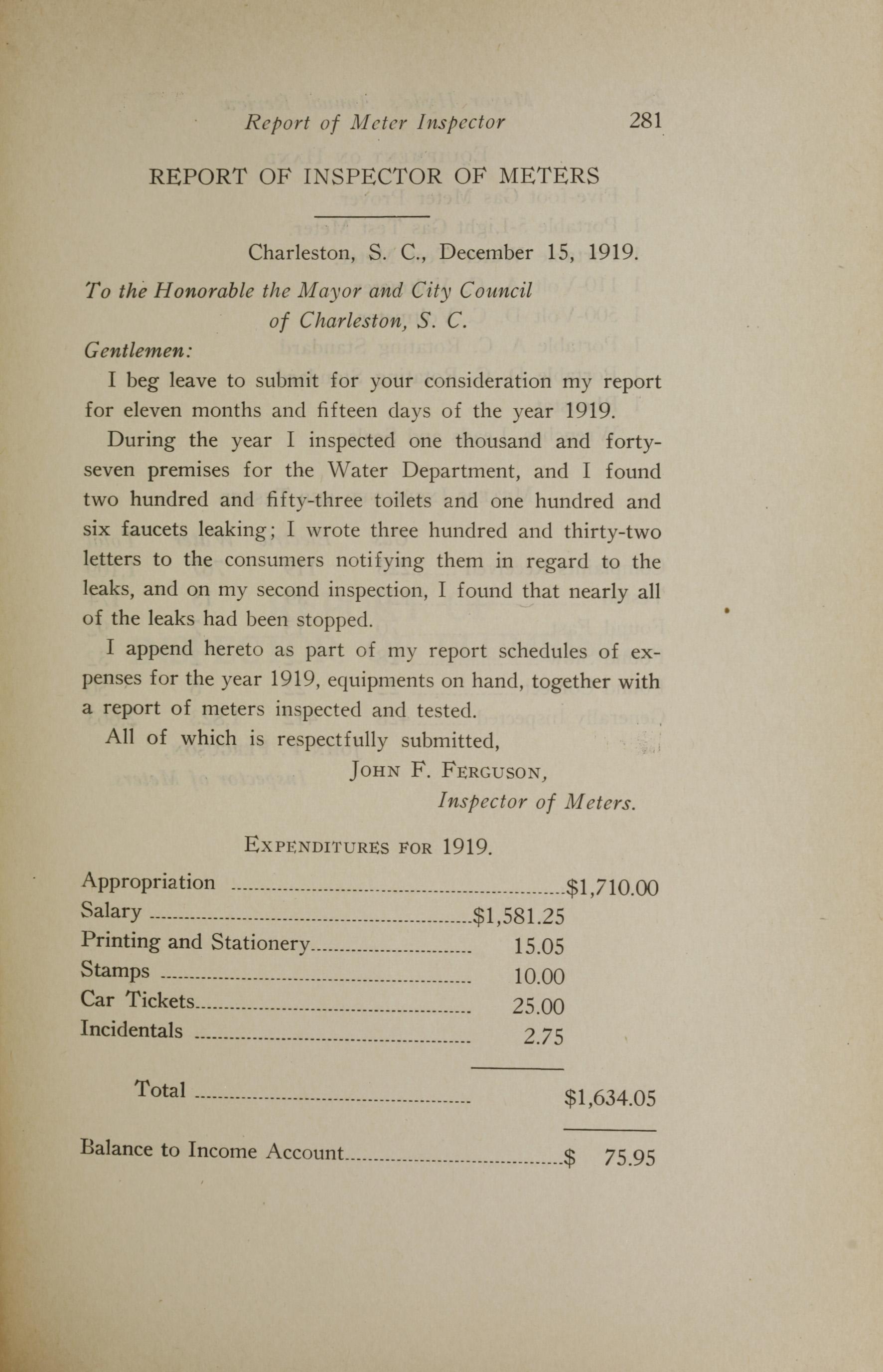 Charleston Yearbook, 1919, page 281