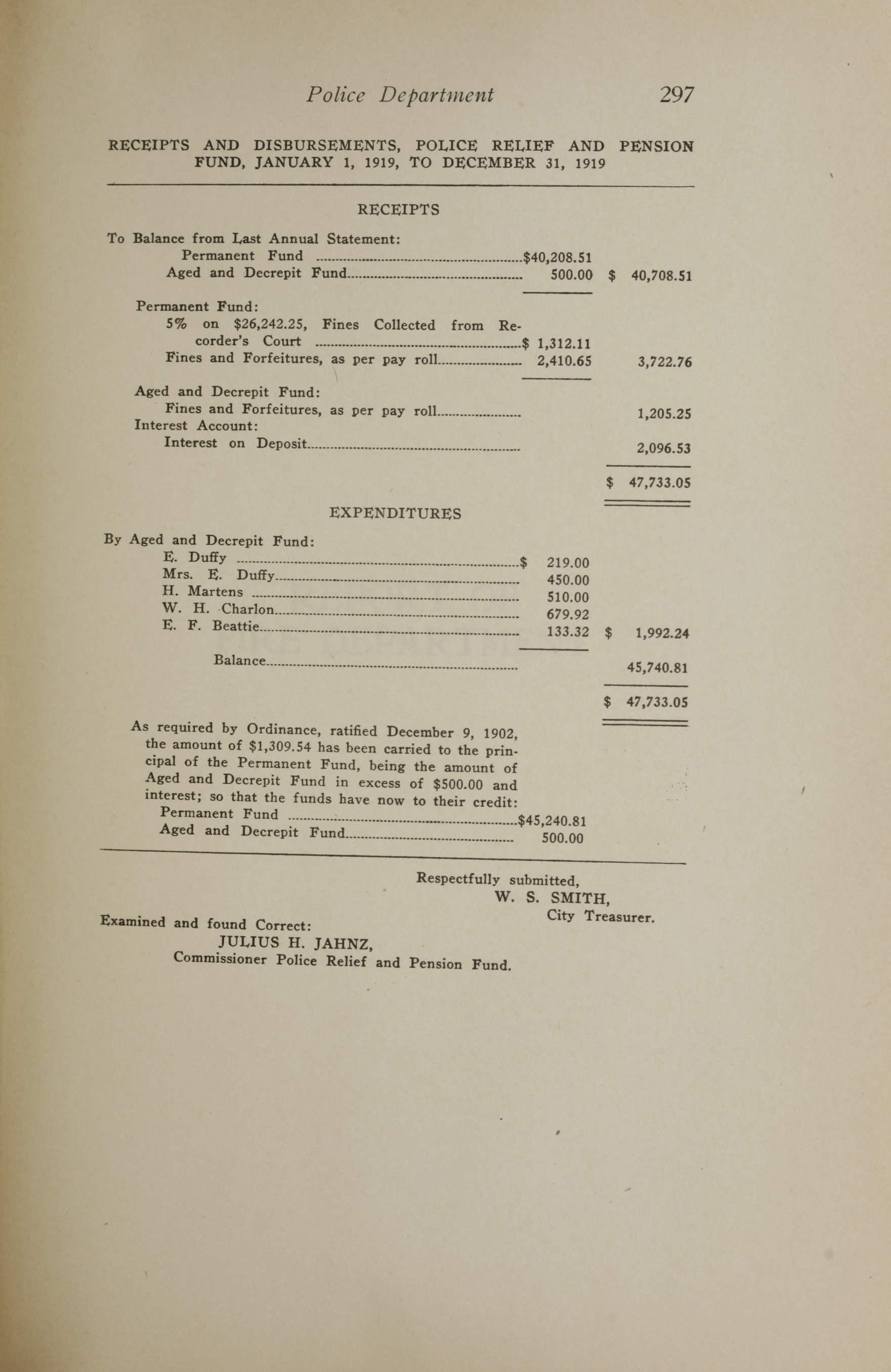 Charleston Yearbook, 1919, page 297
