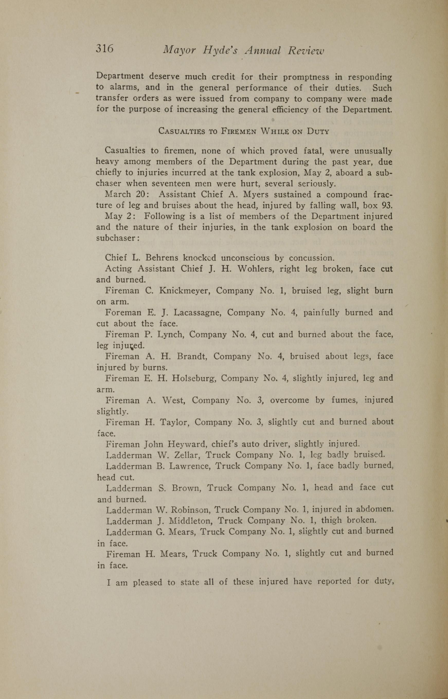 Charleston Yearbook, 1919, page 316