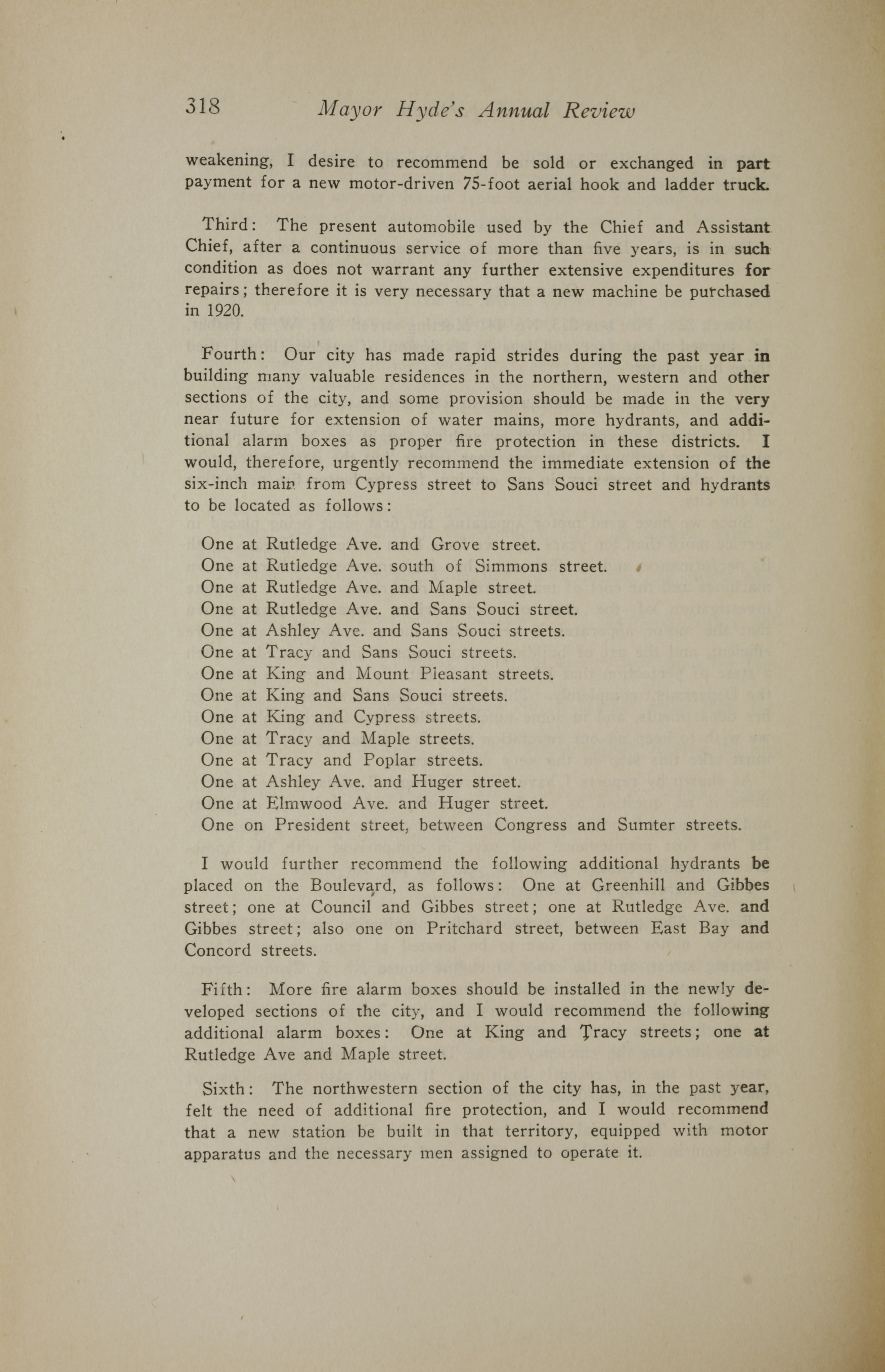 Charleston Yearbook, 1919, page 318