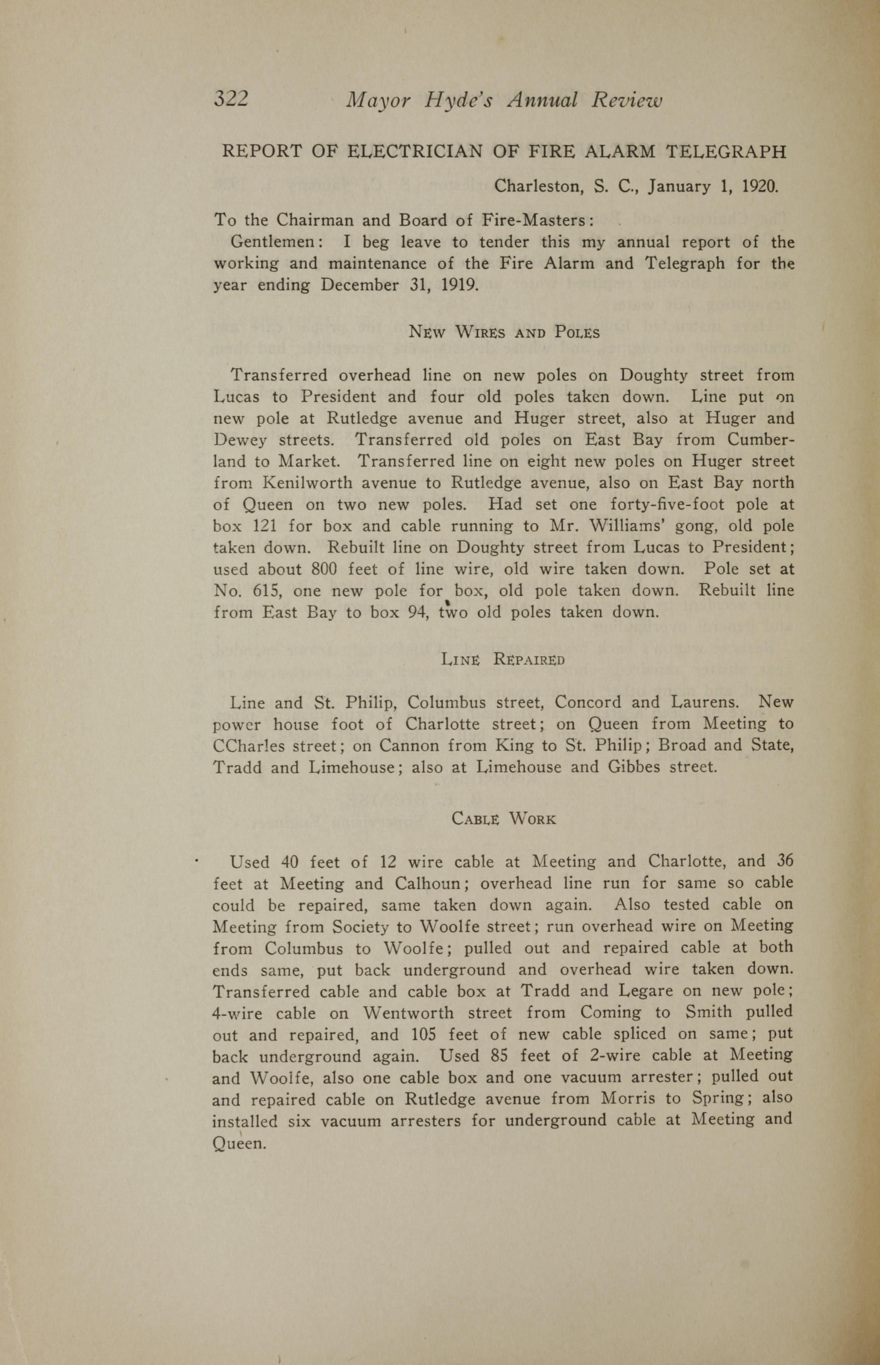 Charleston Yearbook, 1919, page 322