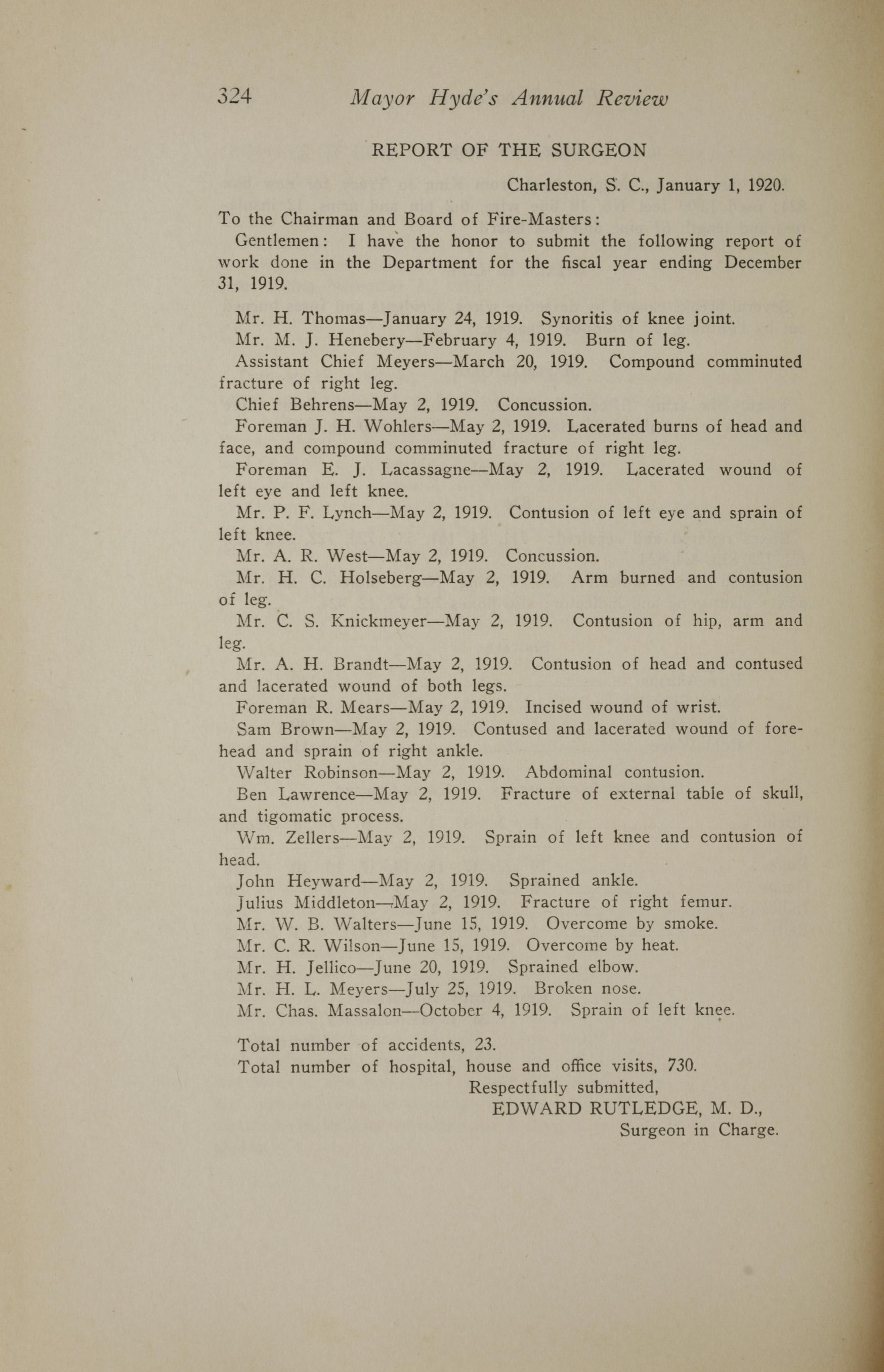 Charleston Yearbook, 1919, page 324