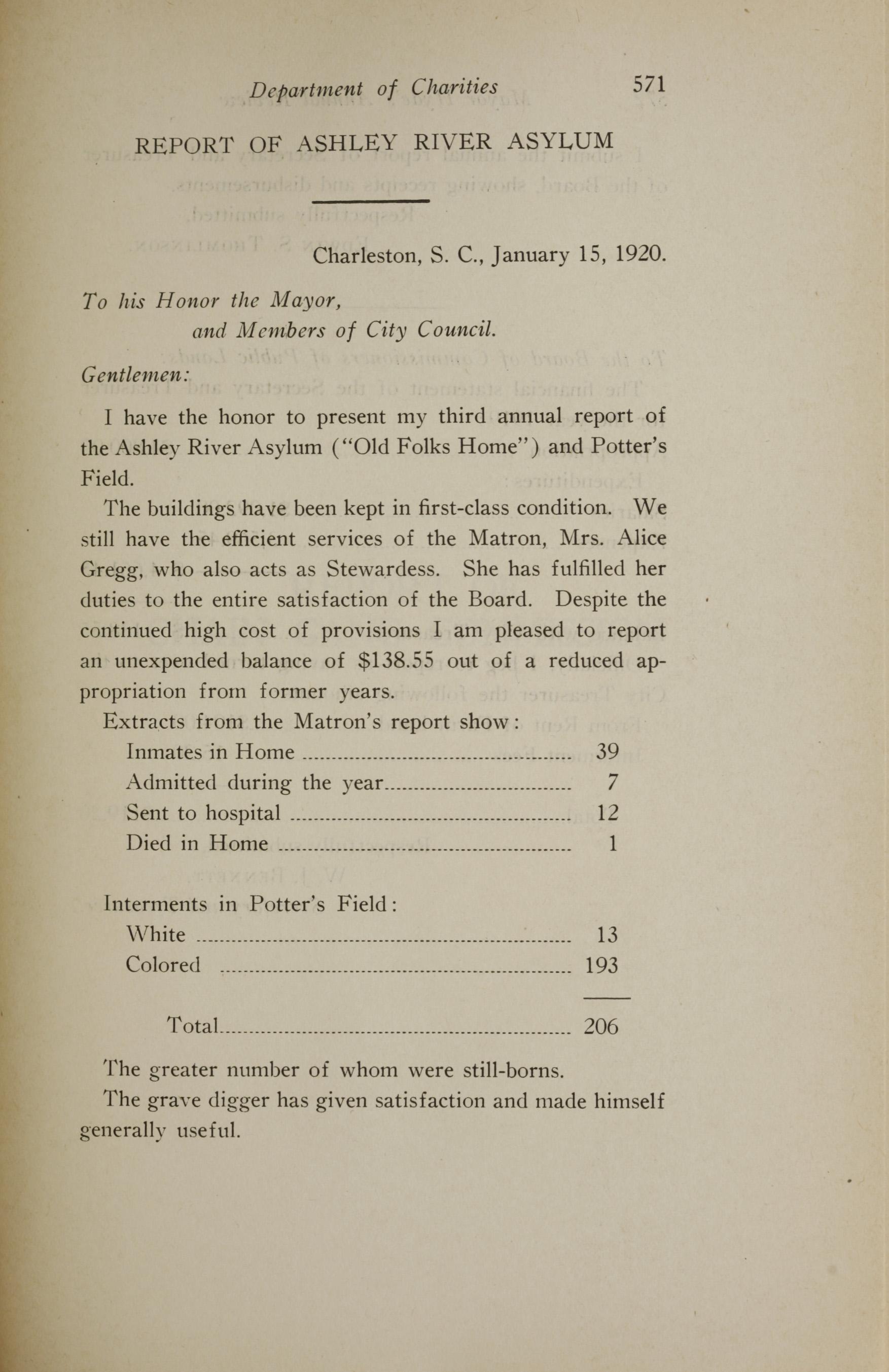 Charleston Yearbook, 1919, page 571