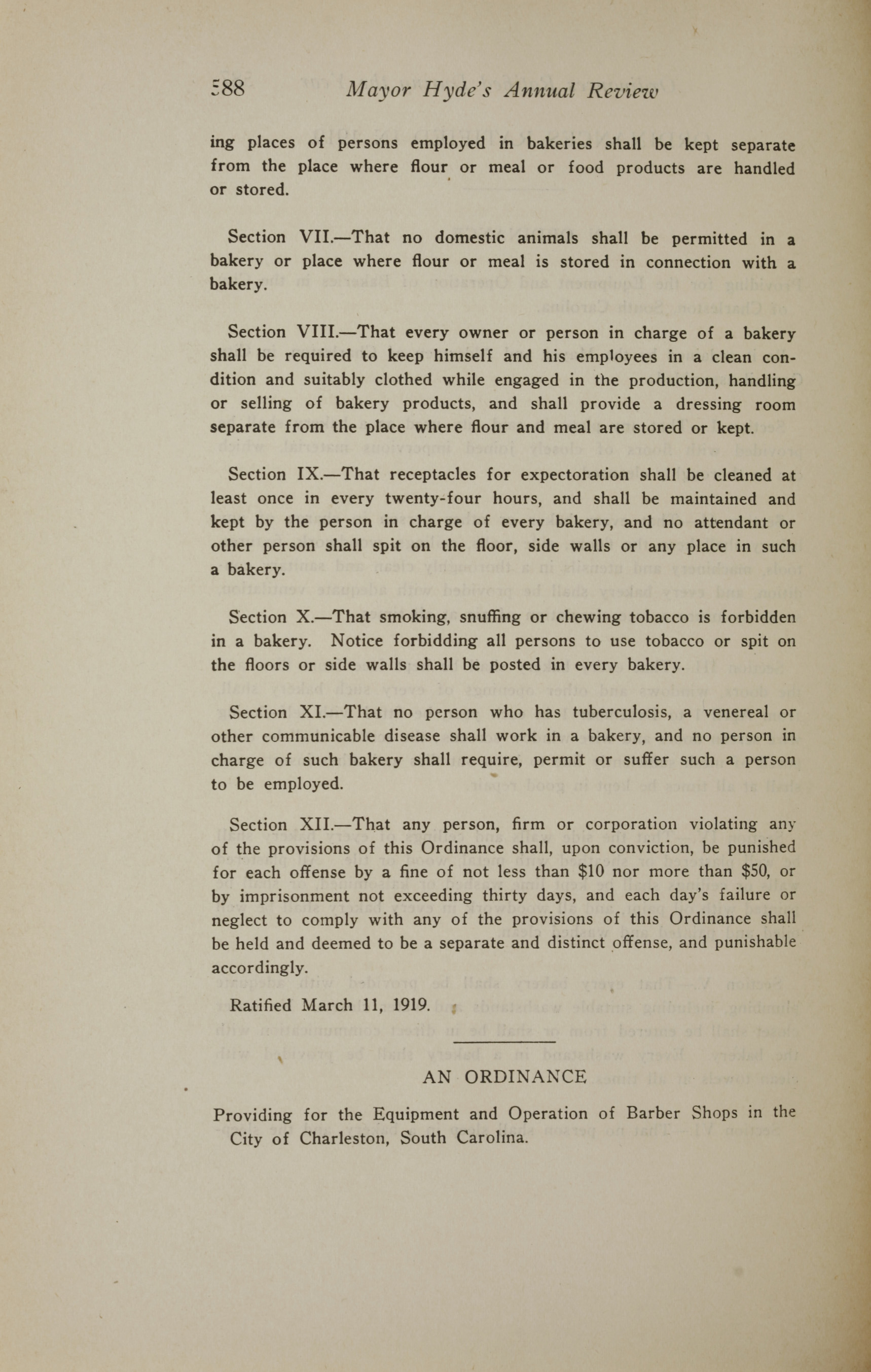 Charleston Yearbook, 1919, page 588