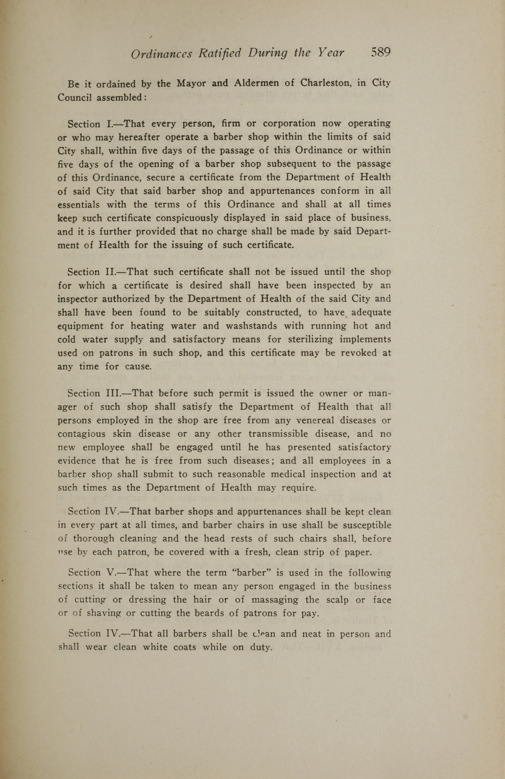 Charleston Yearbook, 1919, page 589
