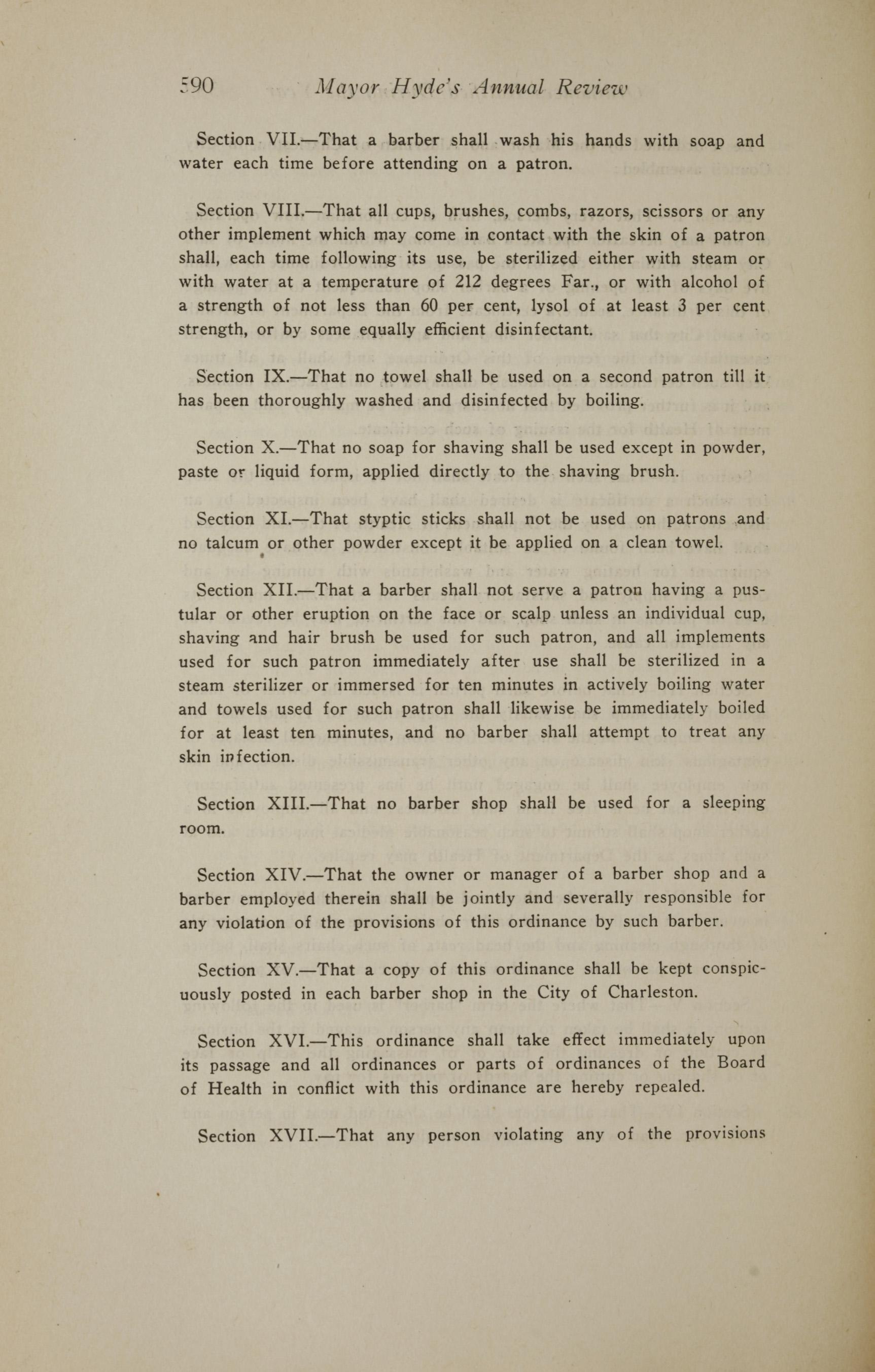 Charleston Yearbook, 1919, page 590