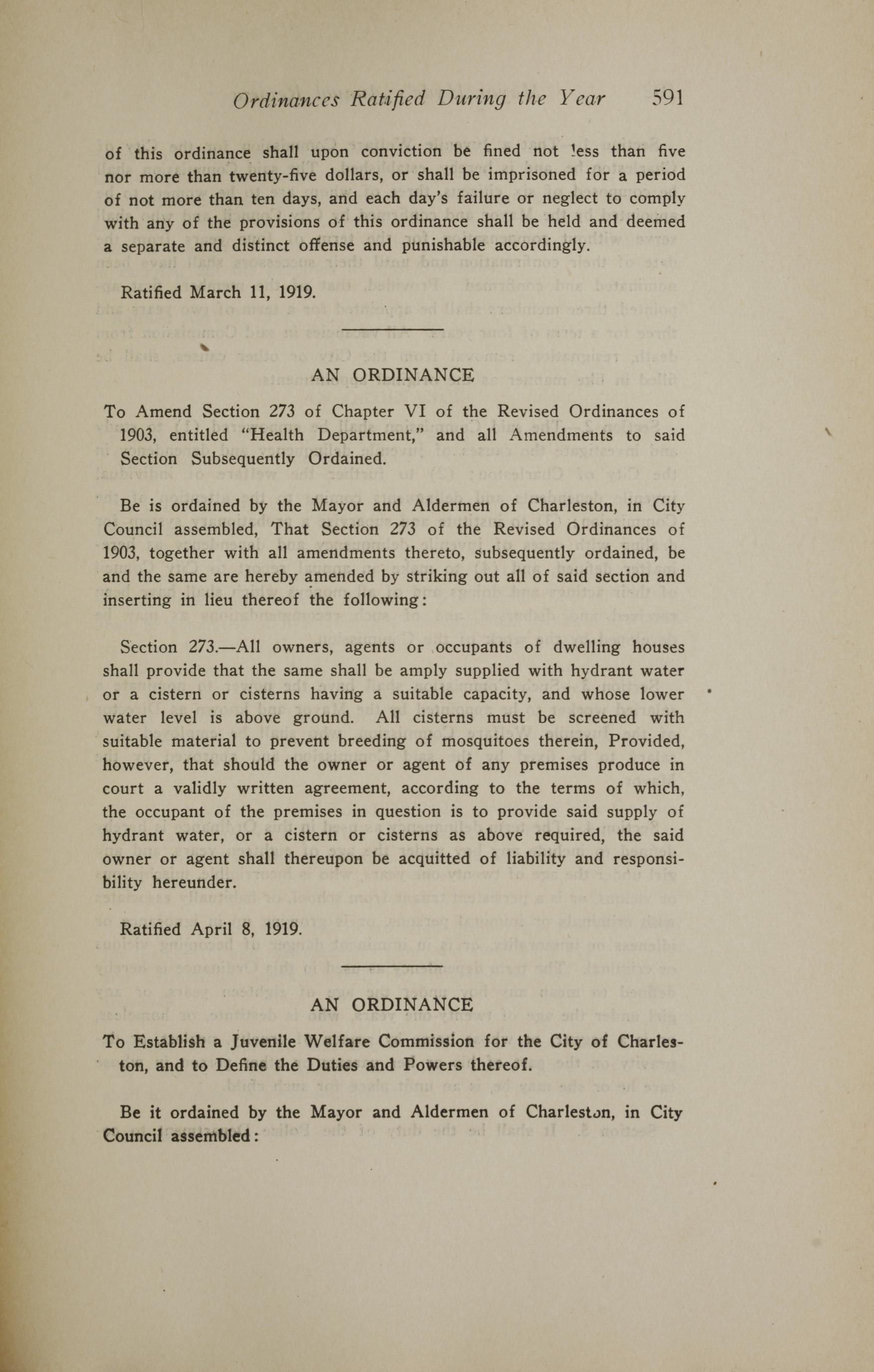 Charleston Yearbook, 1919, page 591