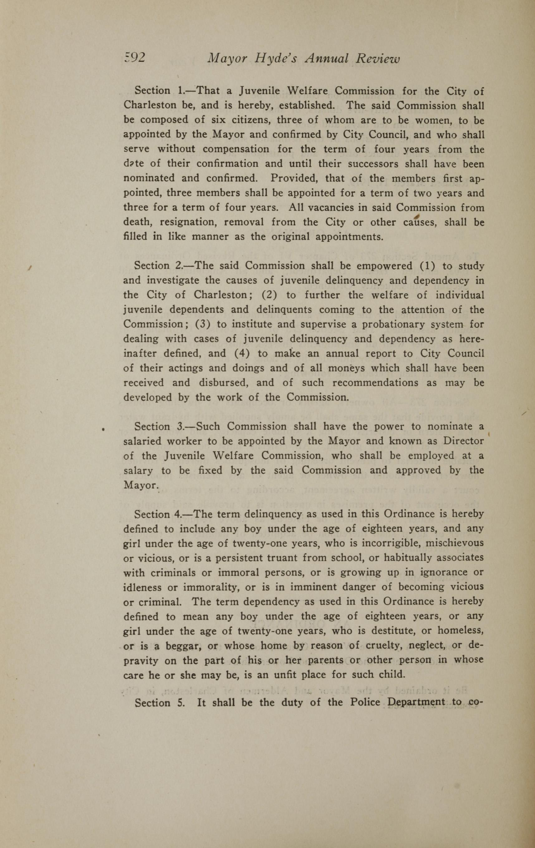 Charleston Yearbook, 1919, page 592