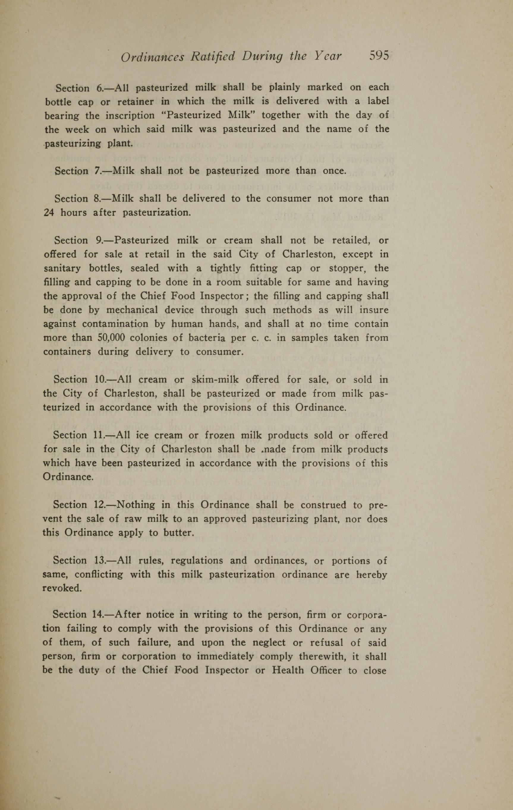 Charleston Yearbook, 1919, page 595