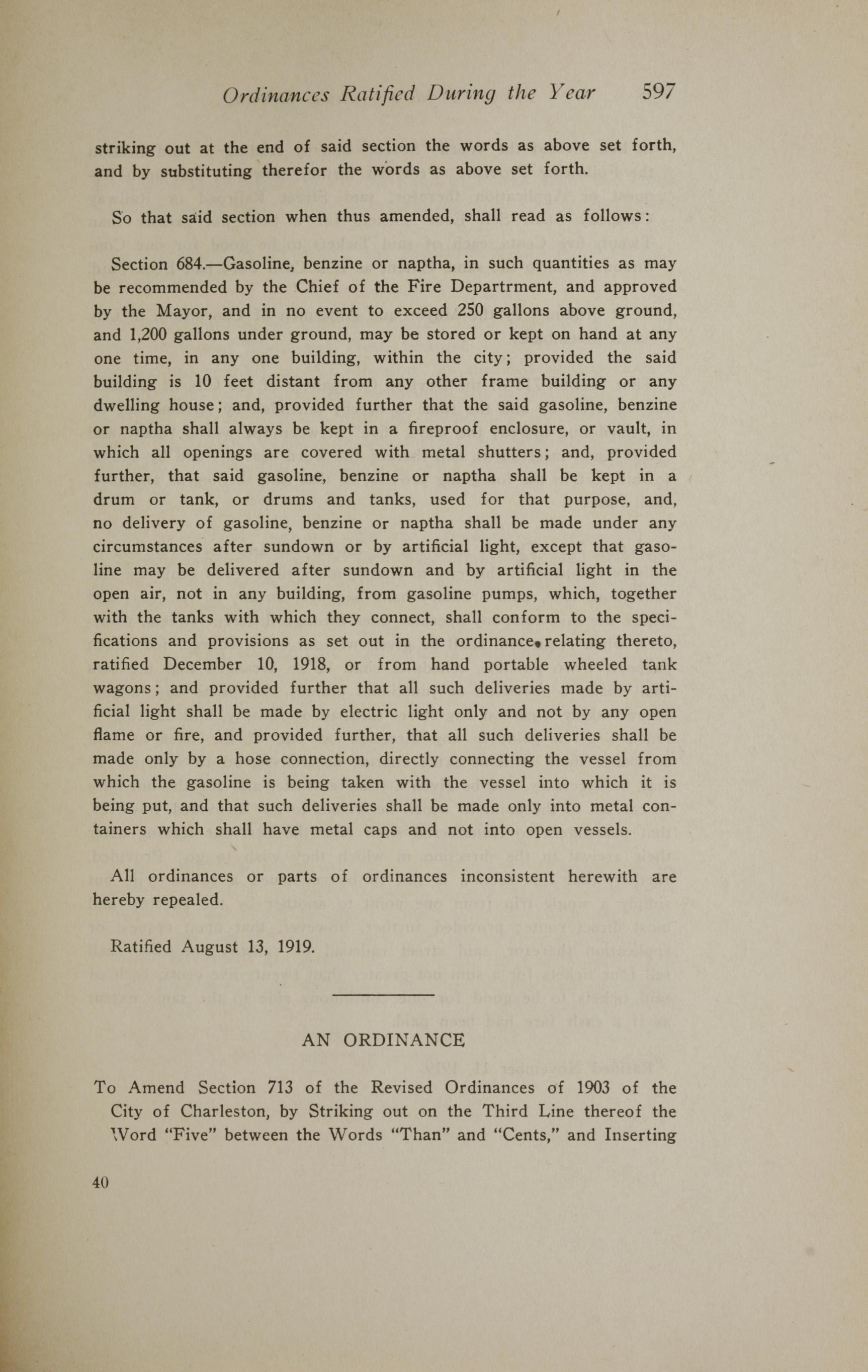 Charleston Yearbook, 1919, page 597