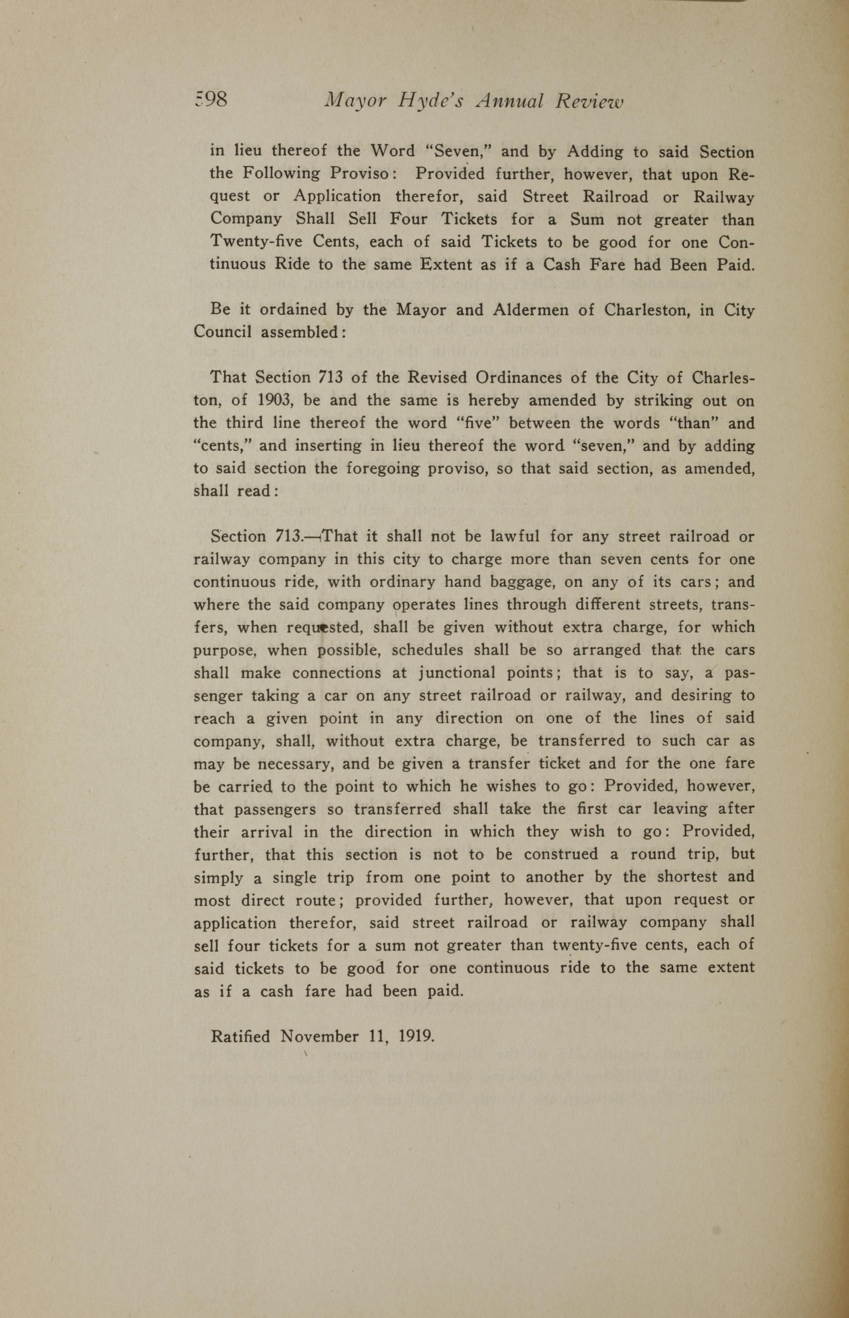 Charleston Yearbook, 1919, page 598