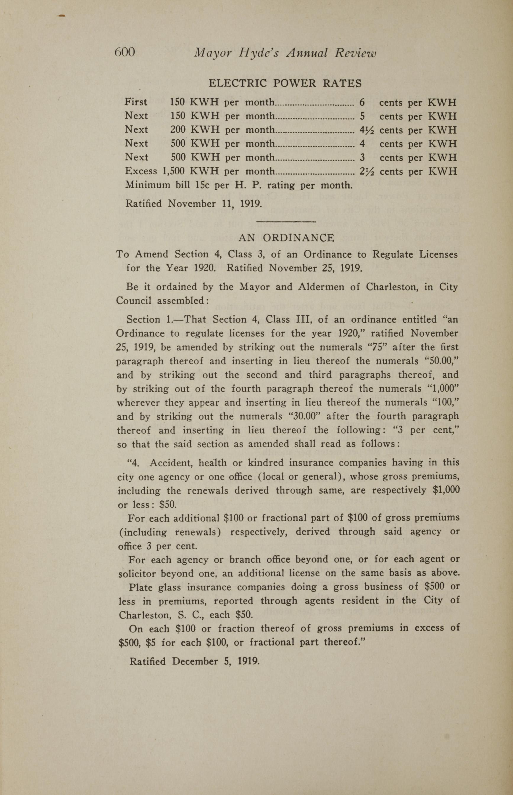 Charleston Yearbook, 1919, page 600