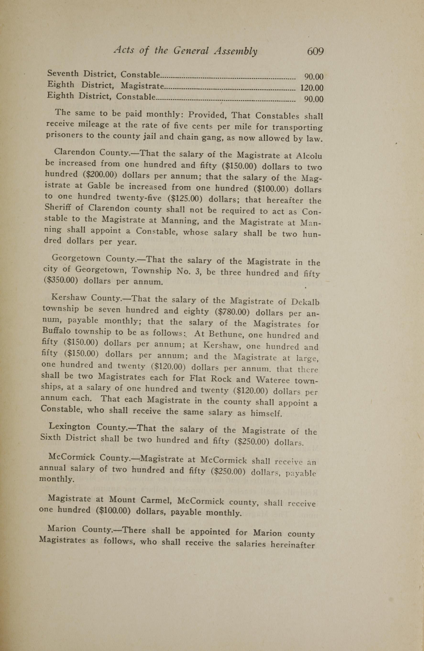 Charleston Yearbook, 1919, page 609