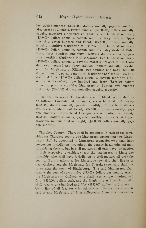 Charleston Yearbook, 1919, page 612