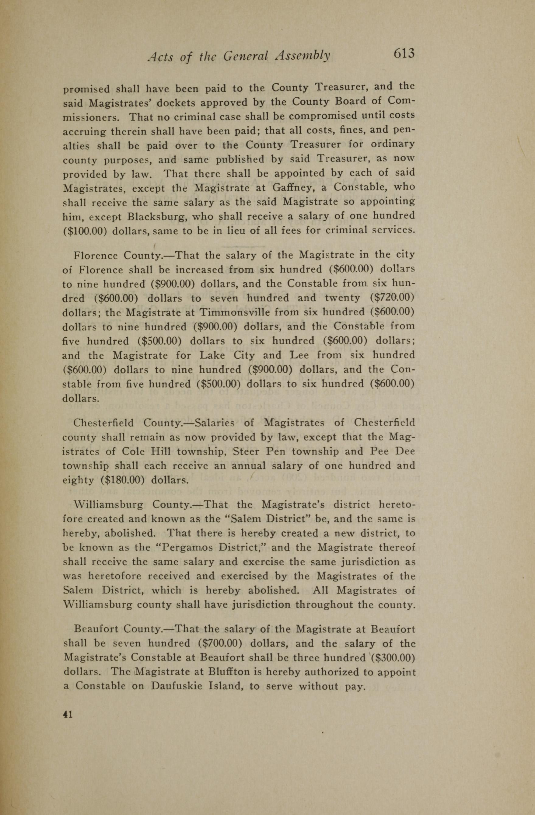 Charleston Yearbook, 1919, page 613