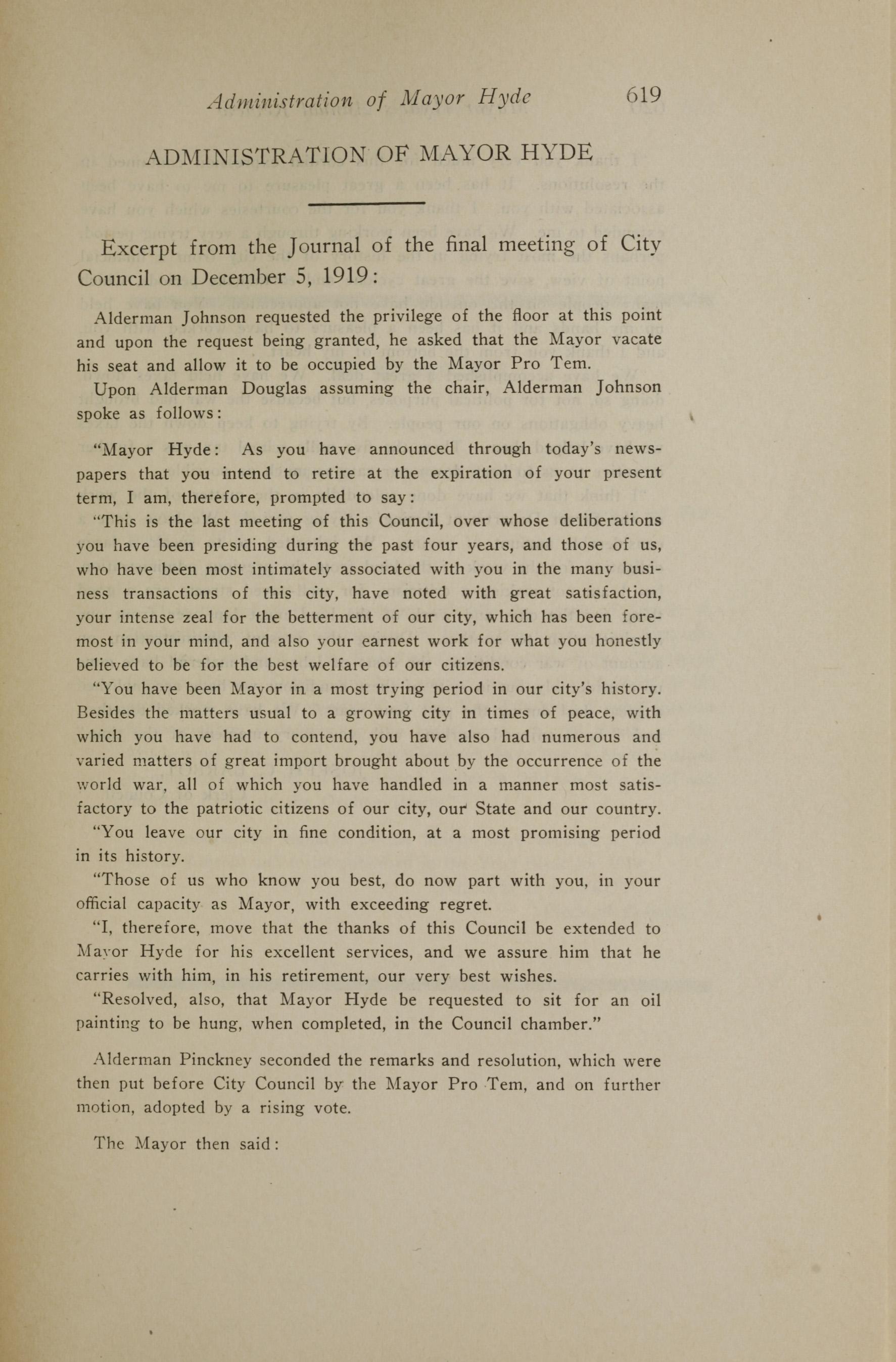 Charleston Yearbook, 1919, page 619
