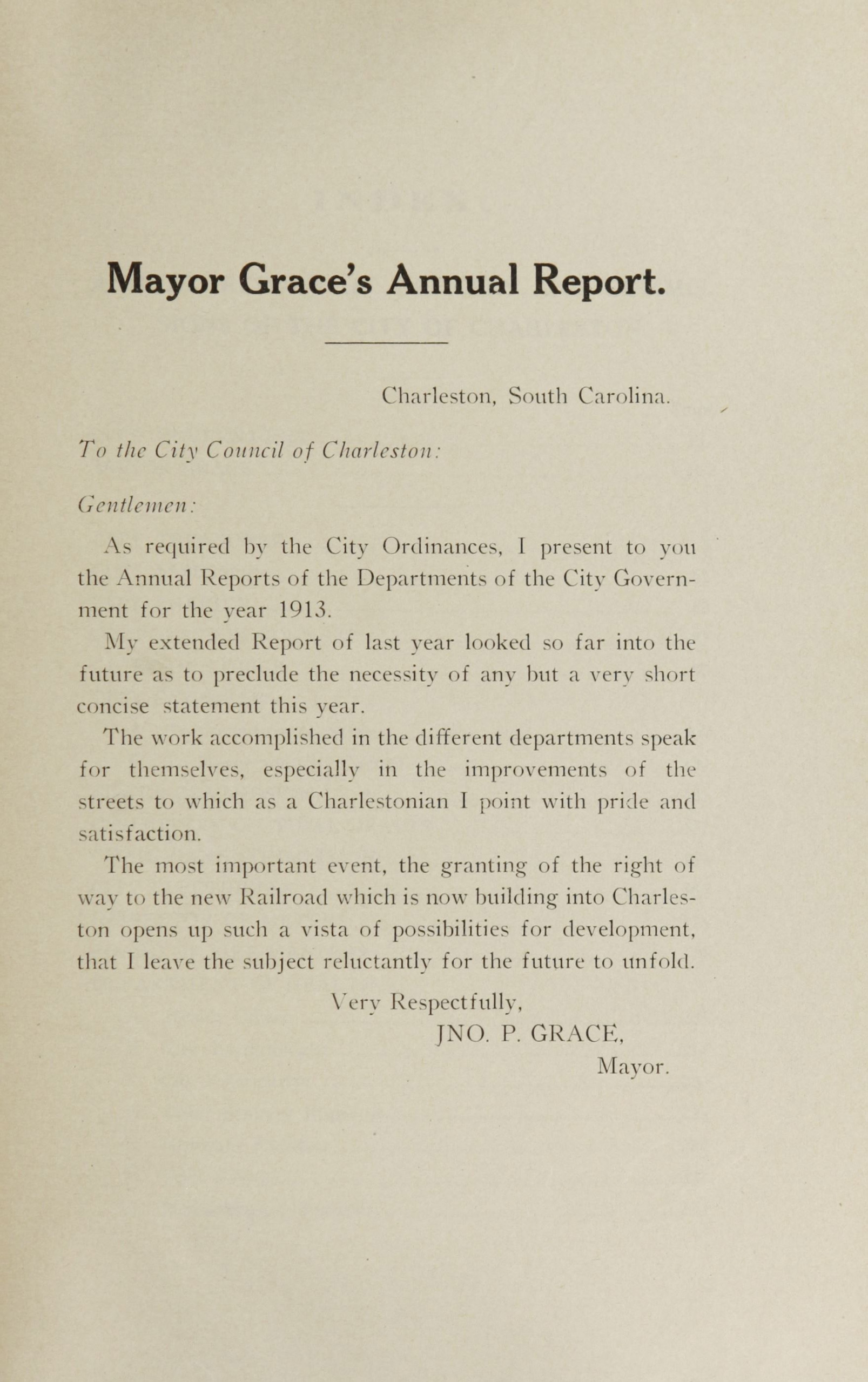 Charleston Yearbook, 1913. xvii