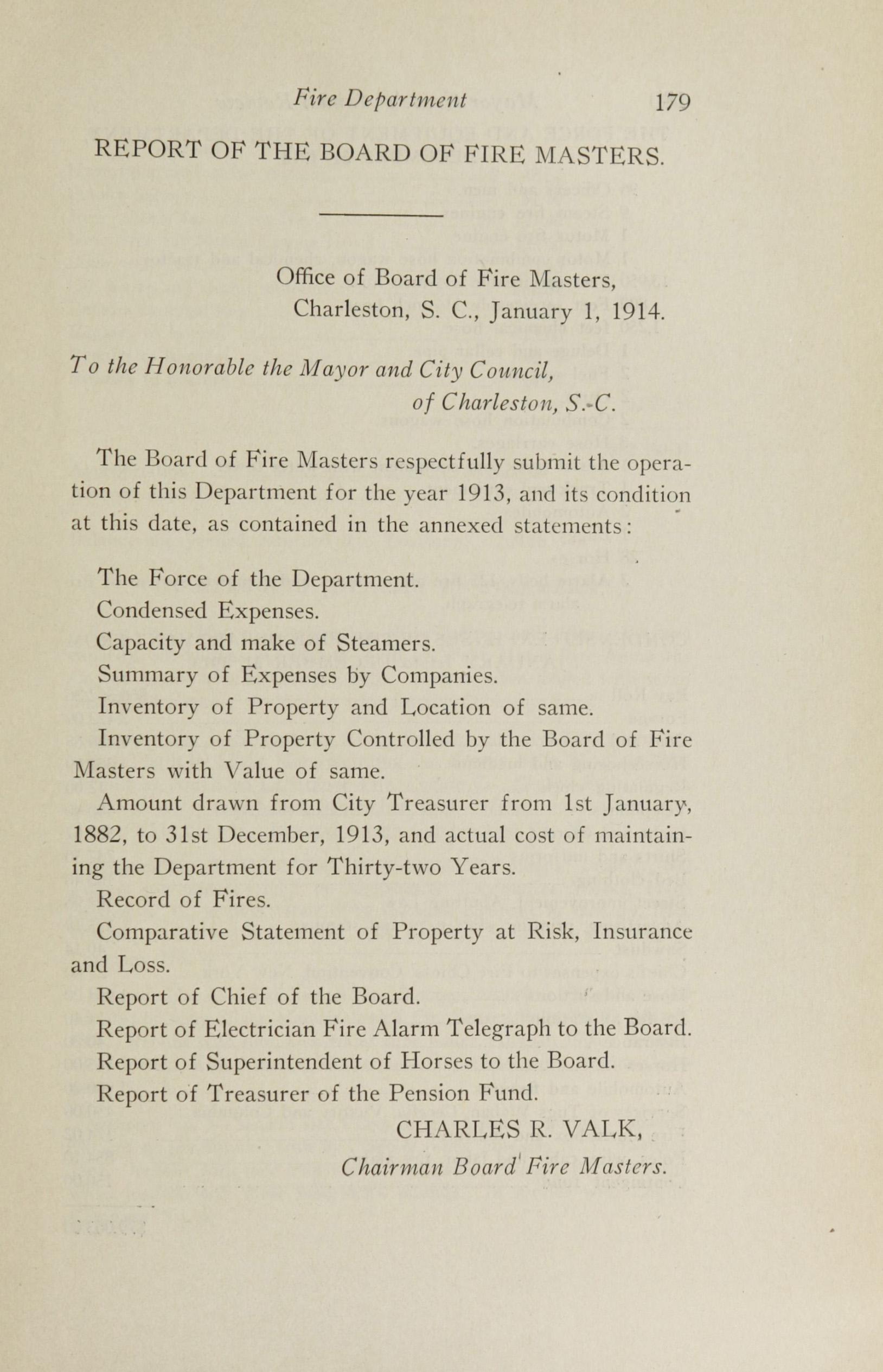 Charleston Yearbook, 1913, page 179