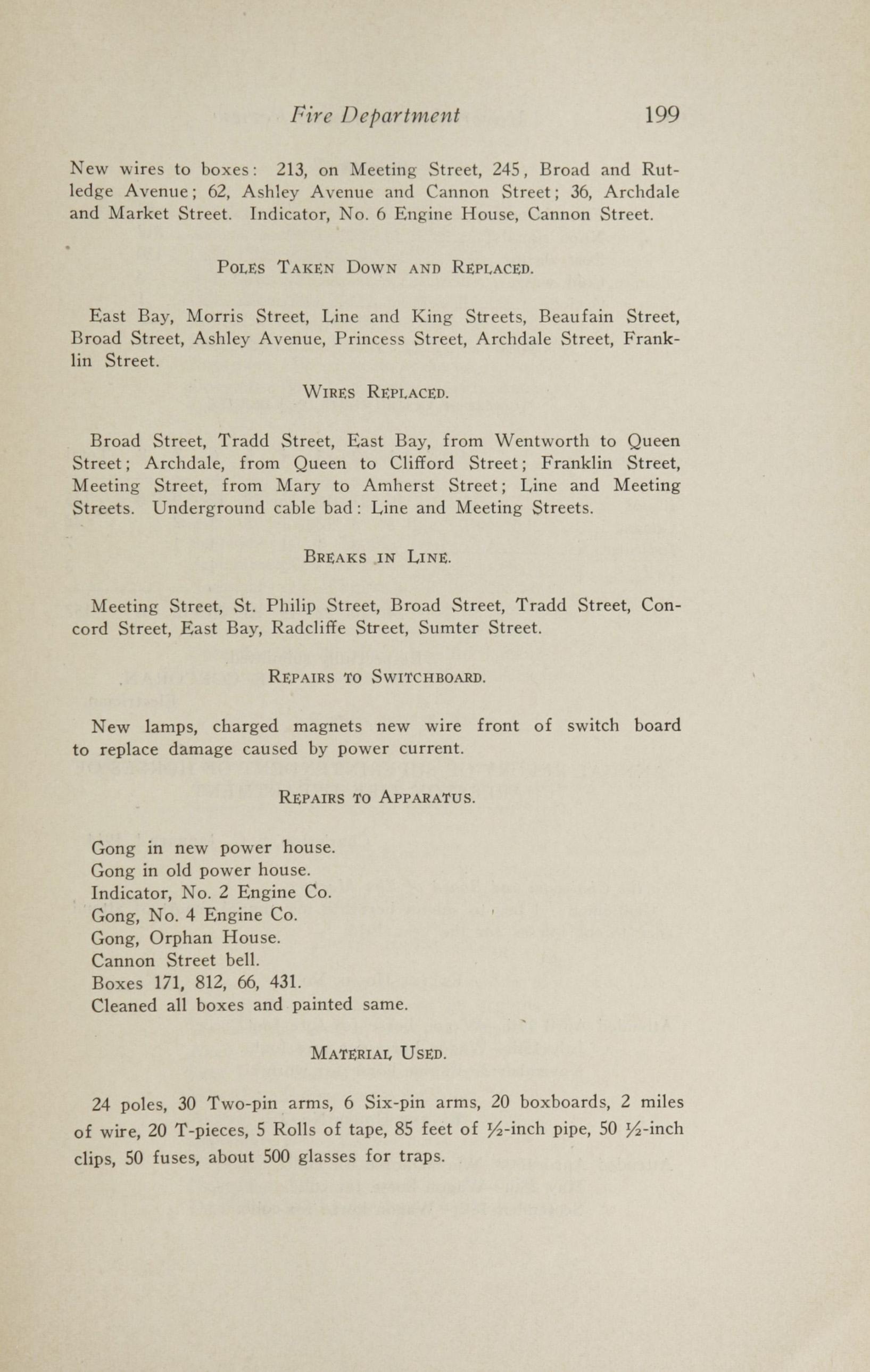 Charleston Yearbook, 1913, page 199