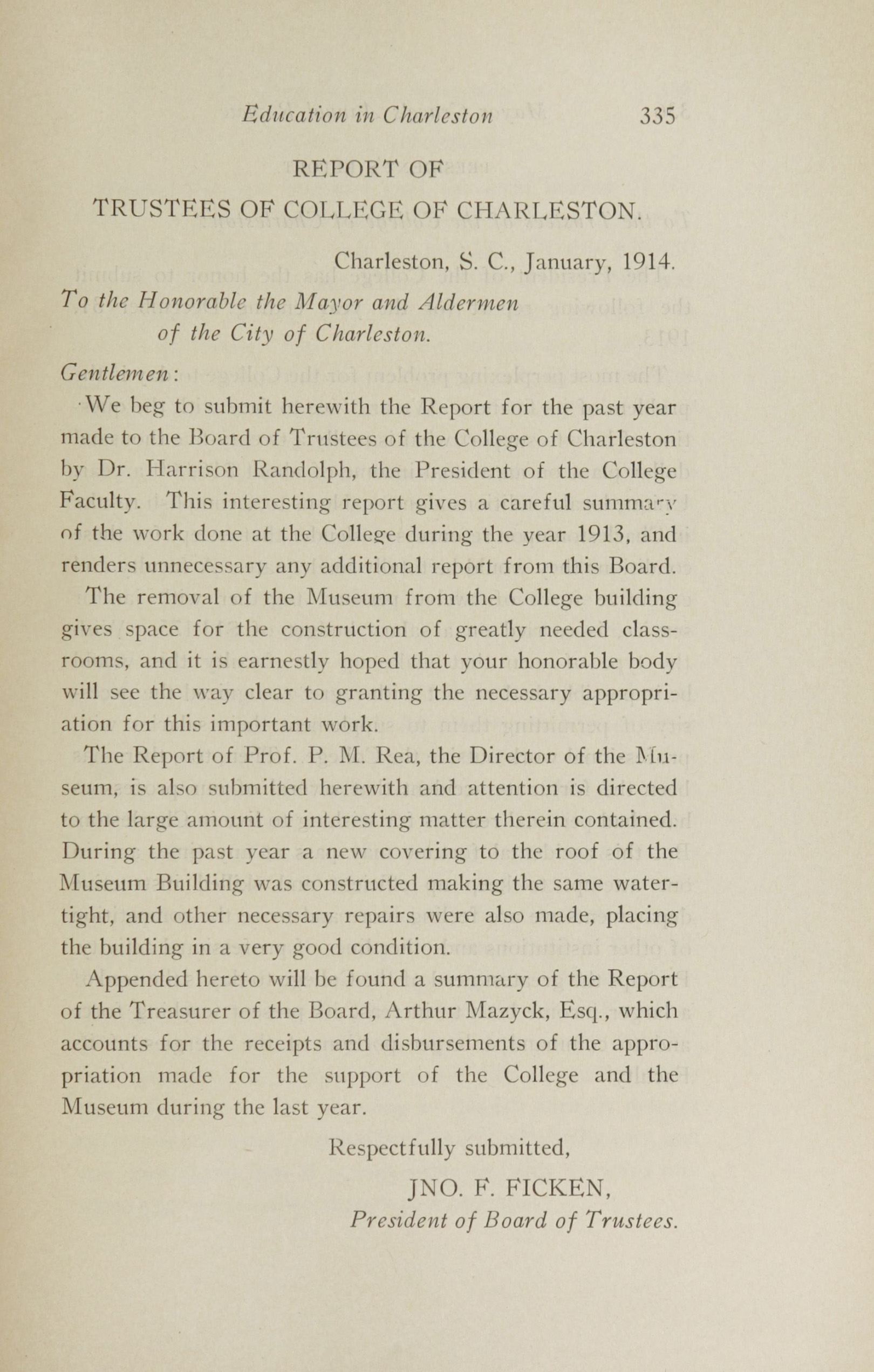 Charleston Yearbook, 1913, page 335