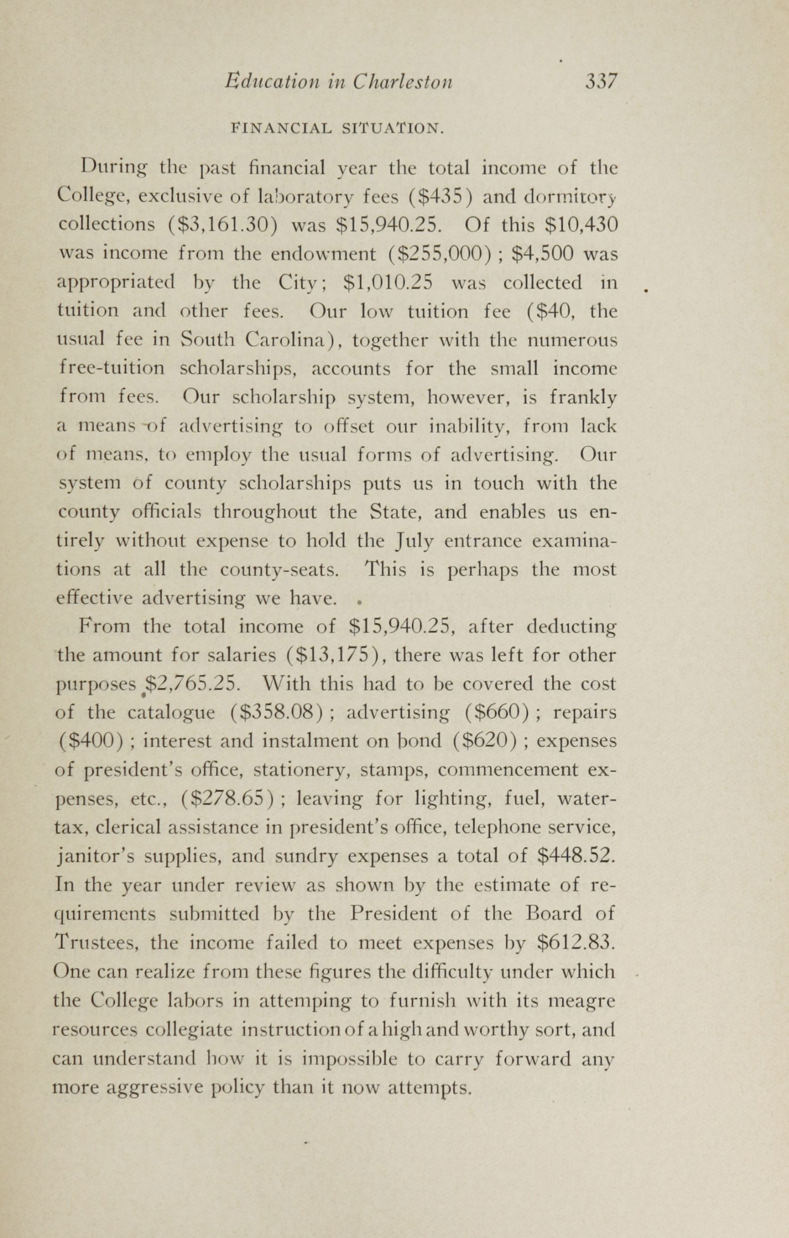 Charleston Yearbook, 1913, page 337