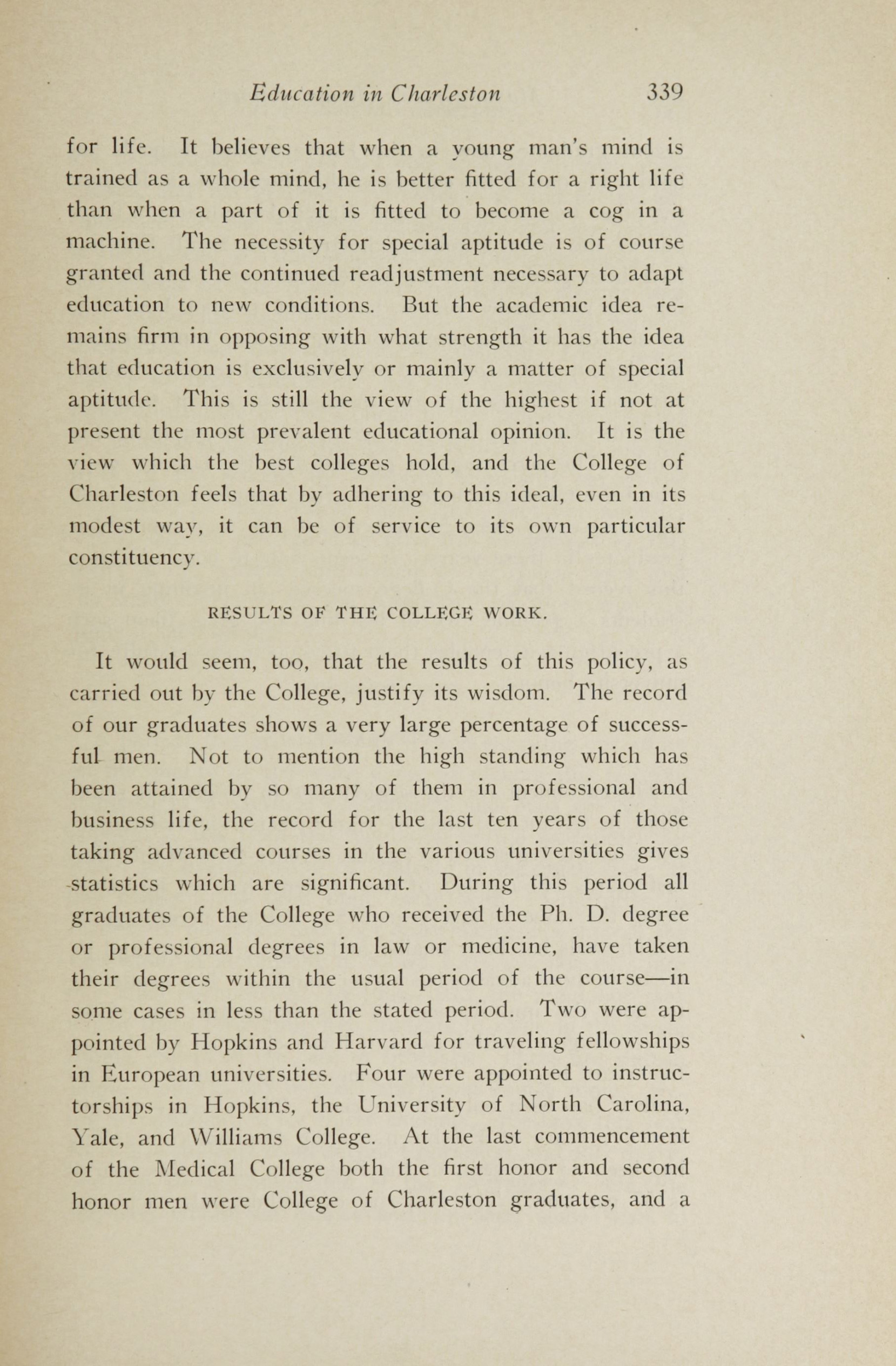 Charleston Yearbook, 1913, page 339