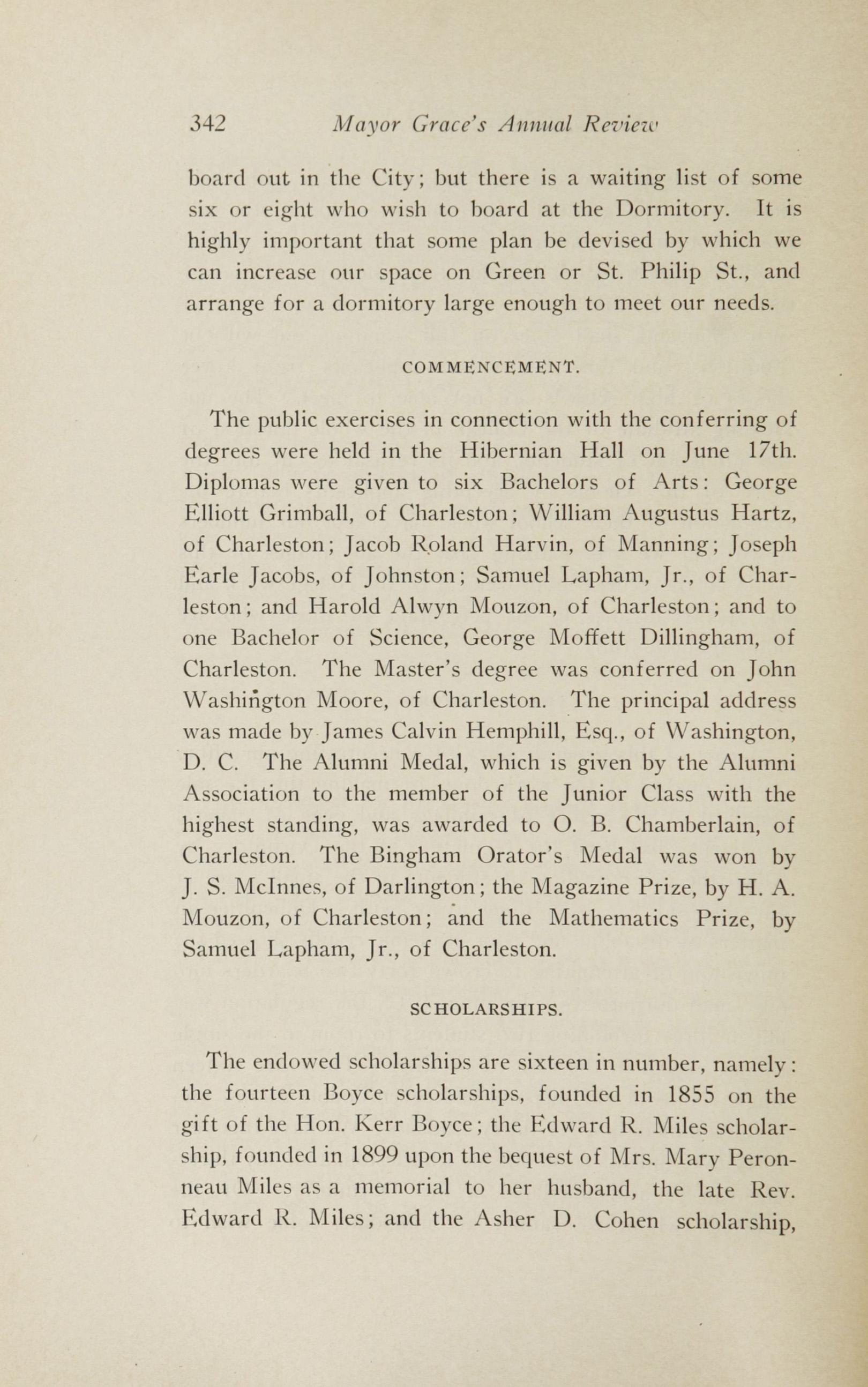 Charleston Yearbook, 1913, page 342