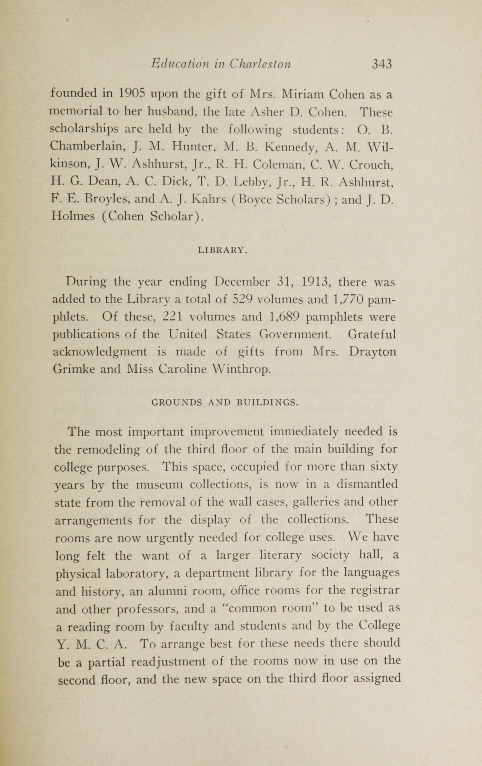 Charleston Yearbook, 1913, page 343