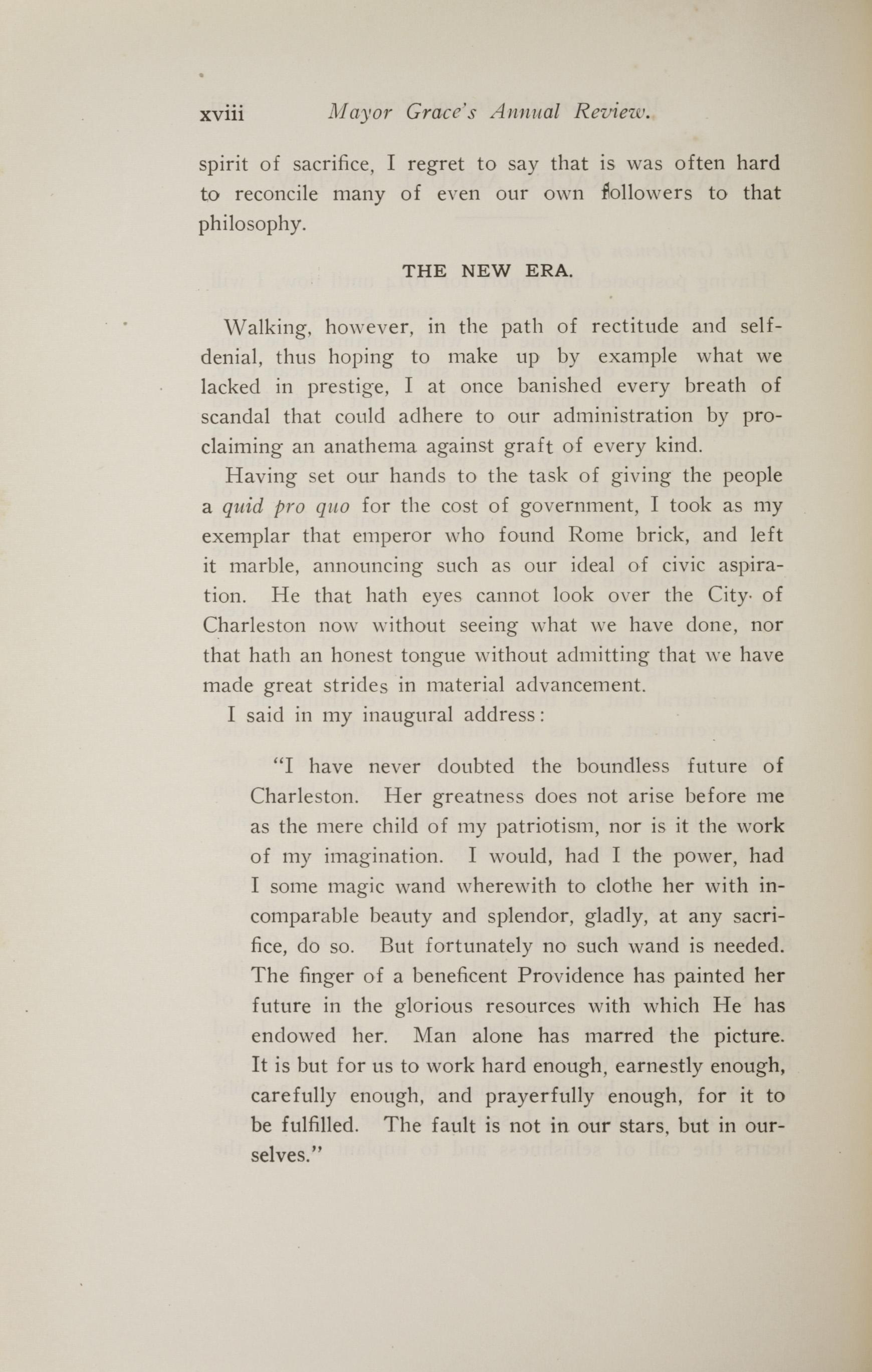 Charleston Yearbook, 1914, page xviii