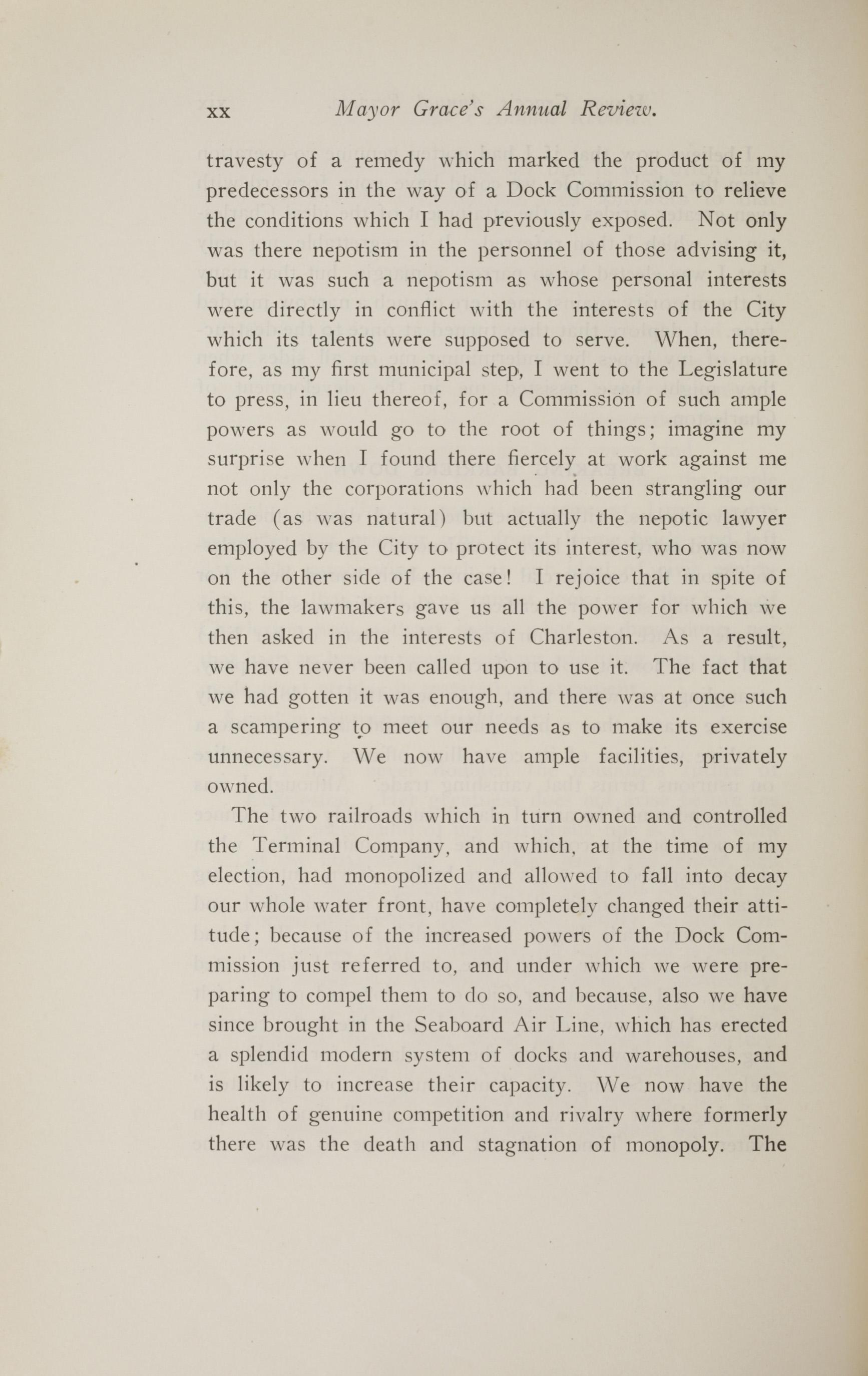 Charleston Yearbook, 1914, page xx