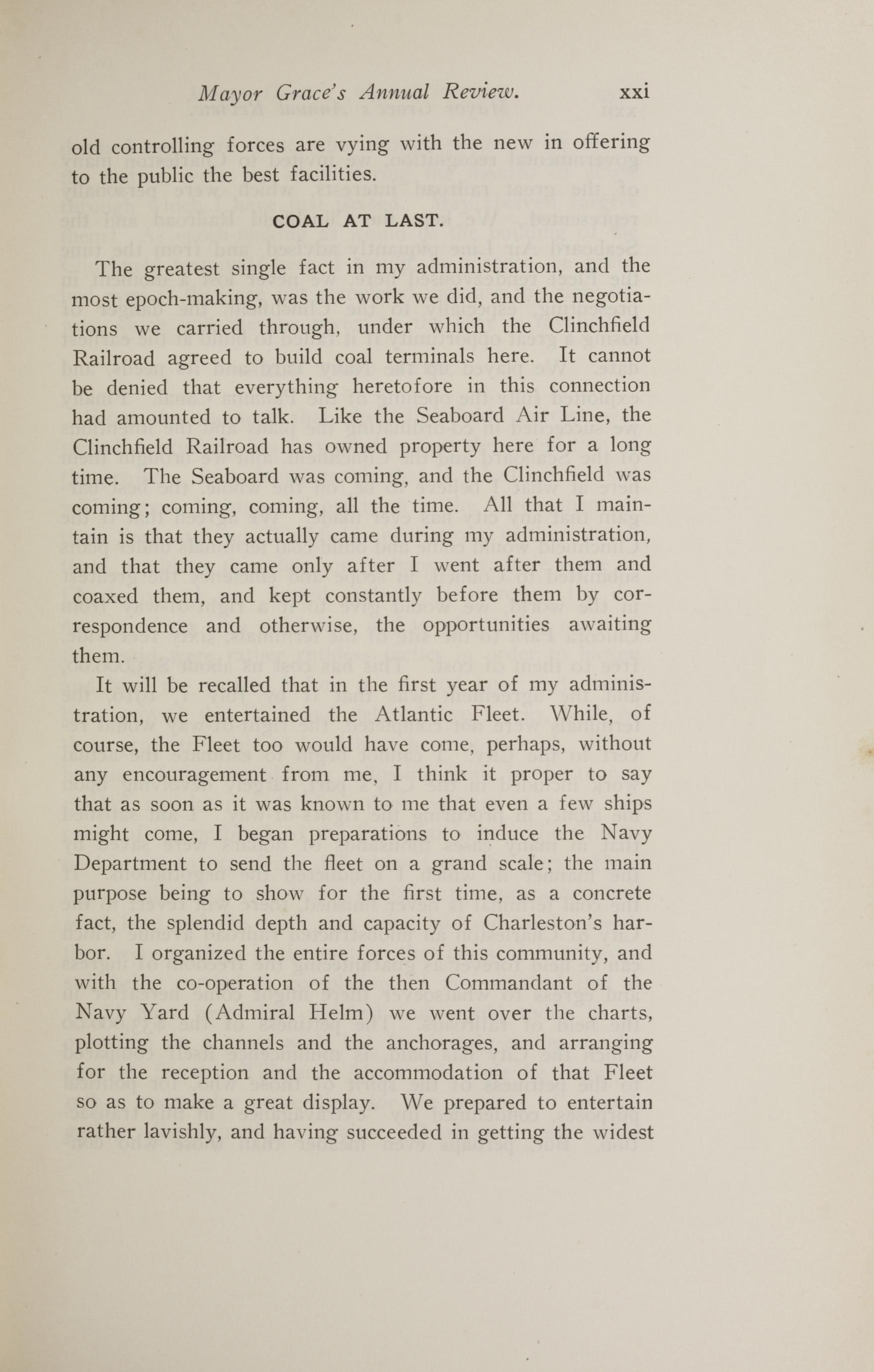 Charleston Yearbook, 1914, page xxi