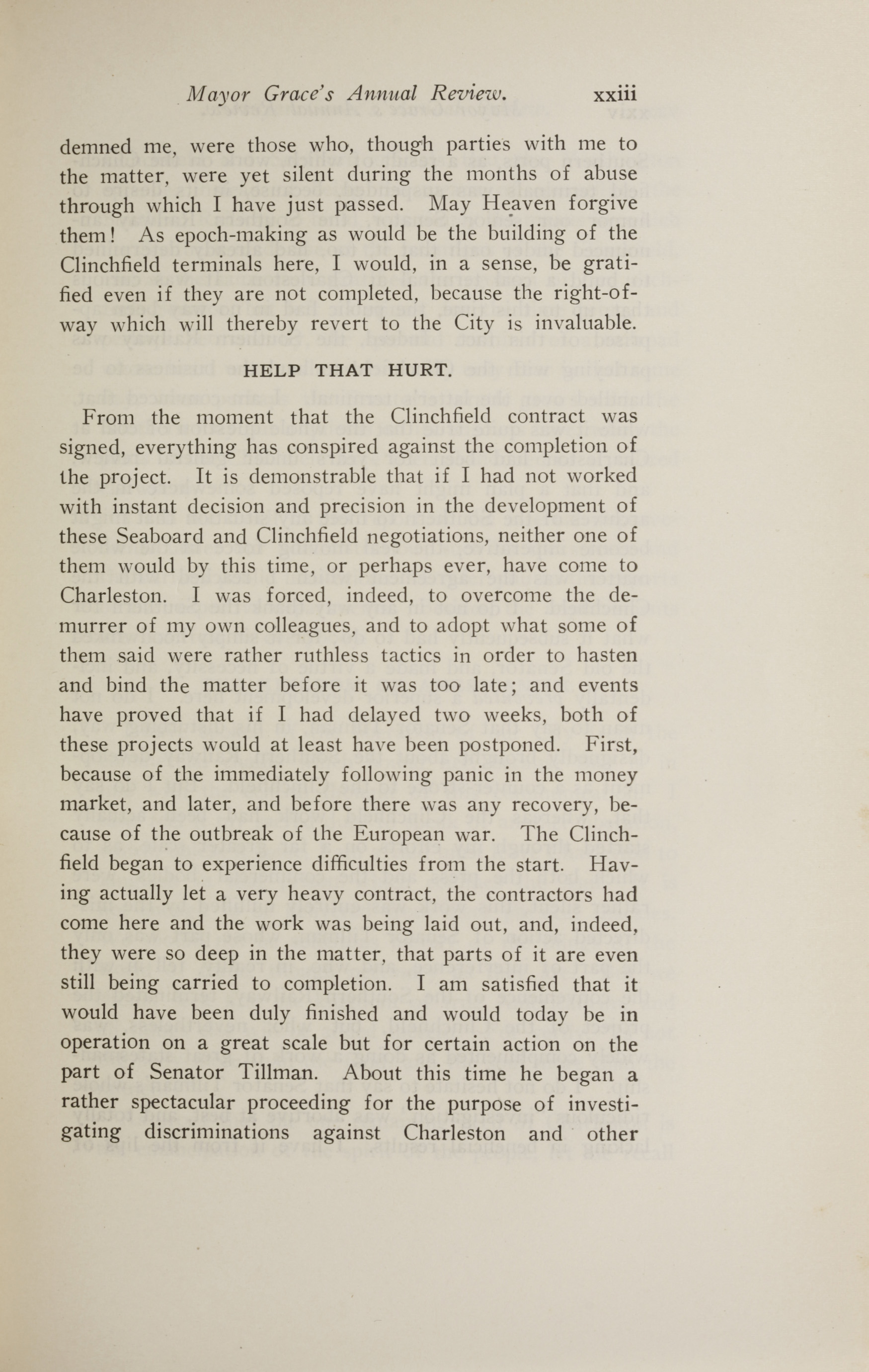 Charleston Yearbook, 1914, page xxiii