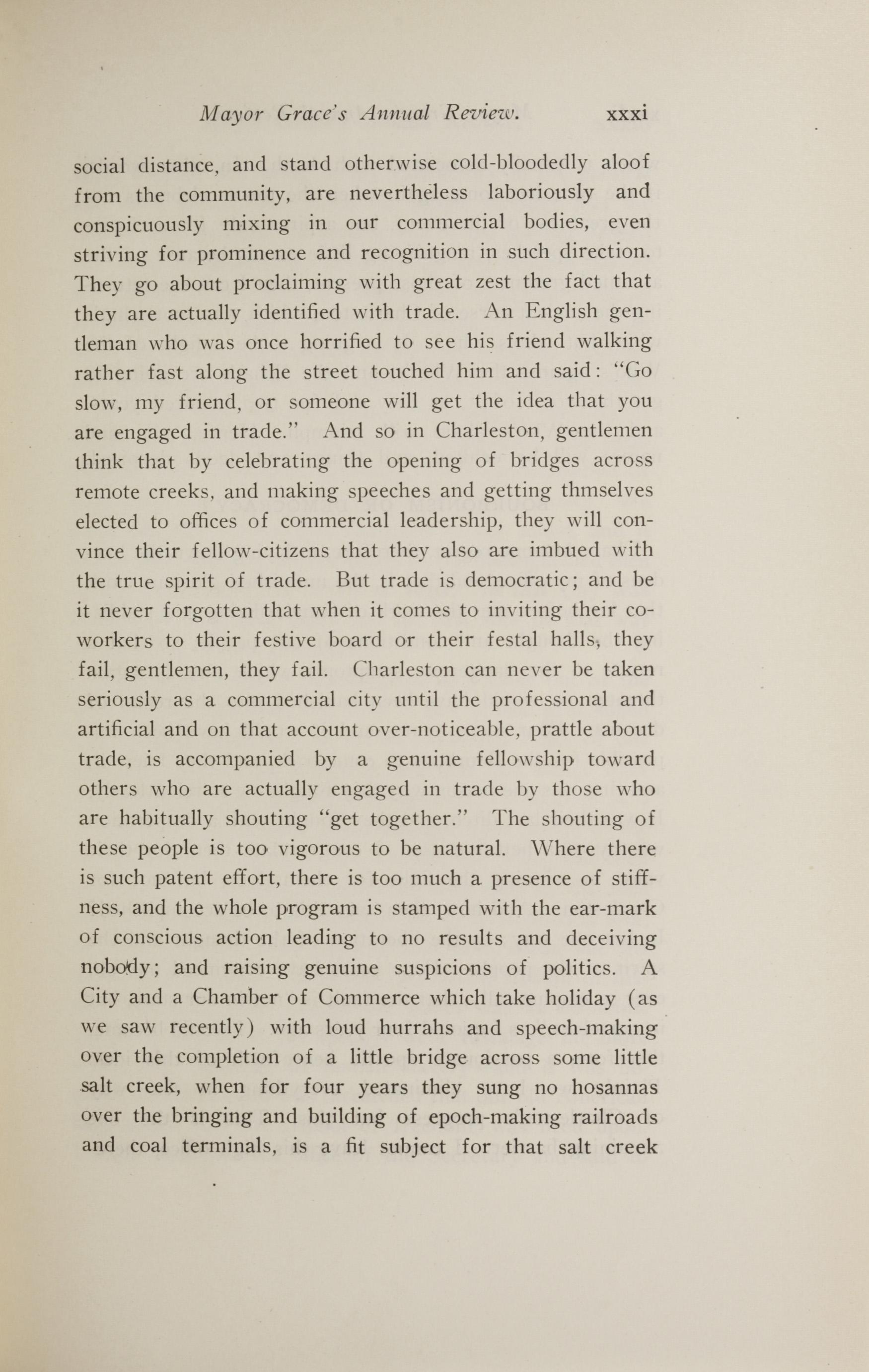 Charleston Yearbook, 1914, page xxxi