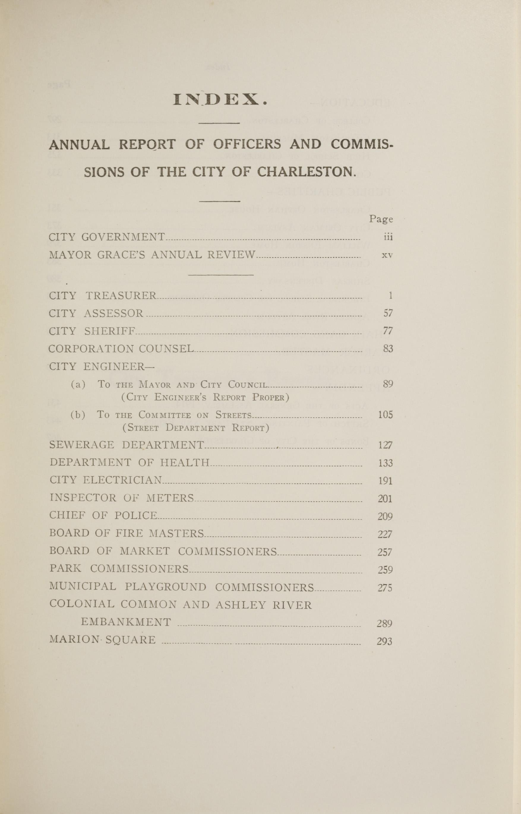 Charleston Yearbook, 1914, page xli