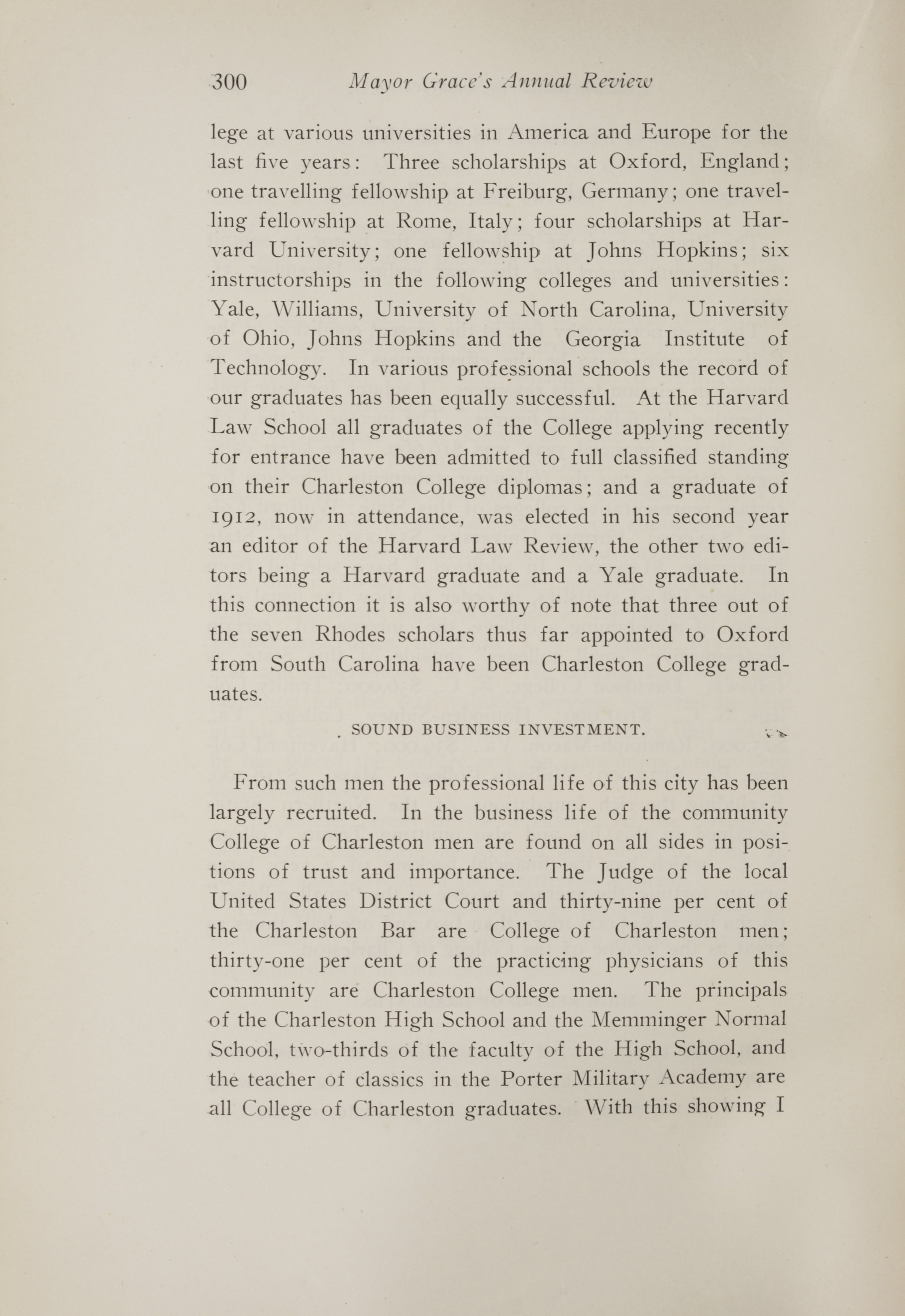 Charleston Yearbook, 1914, page 300