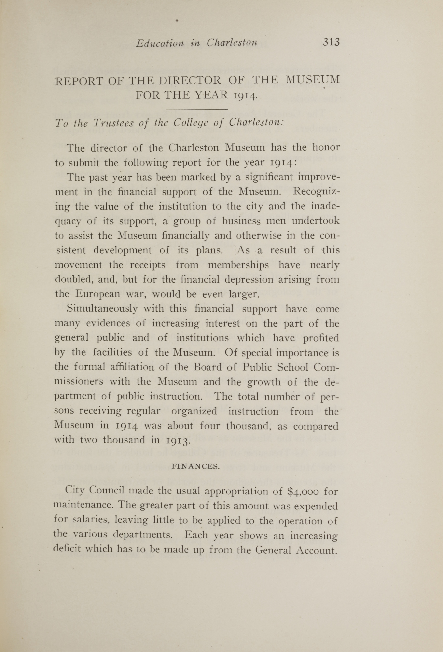 Charleston Yearbook, 1914, page 313