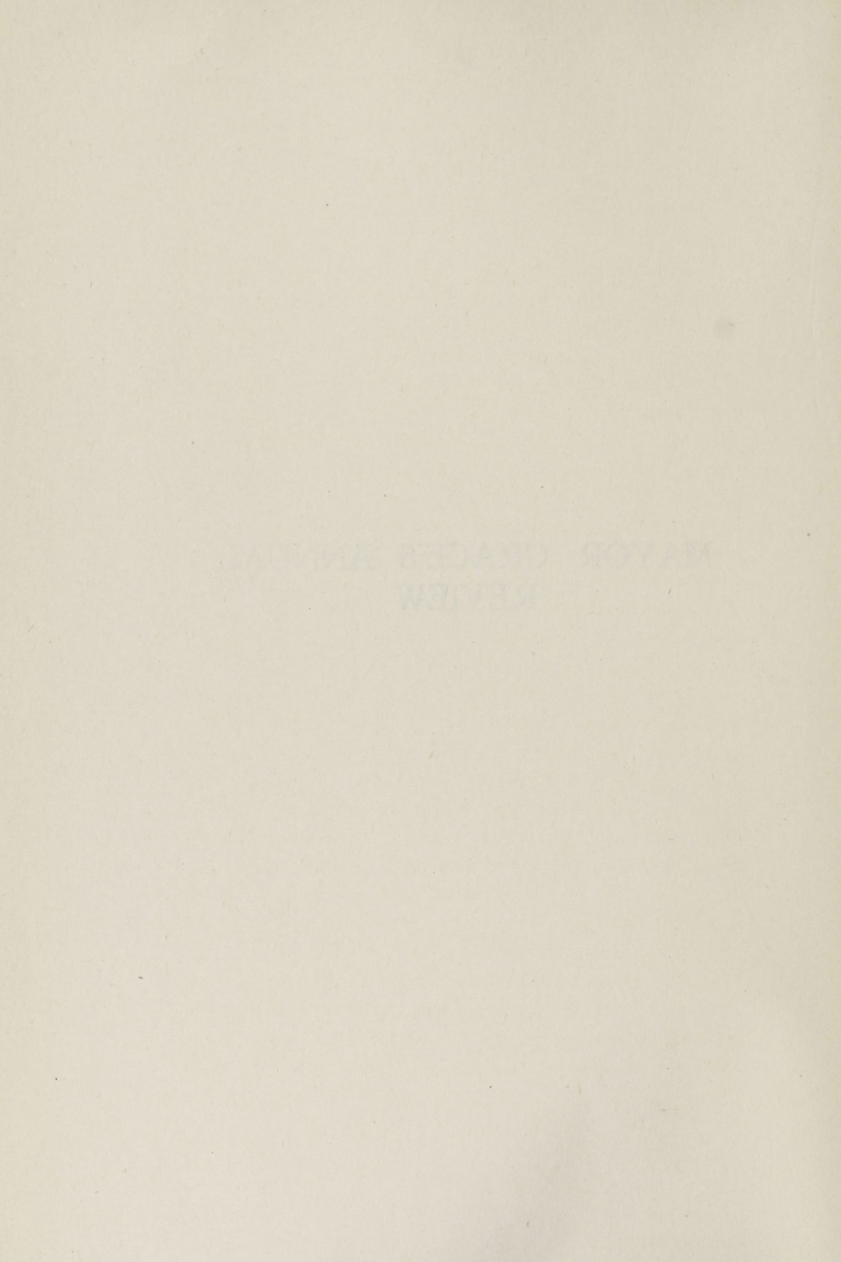 Charleston Yearbook, 1920, blank back of insert