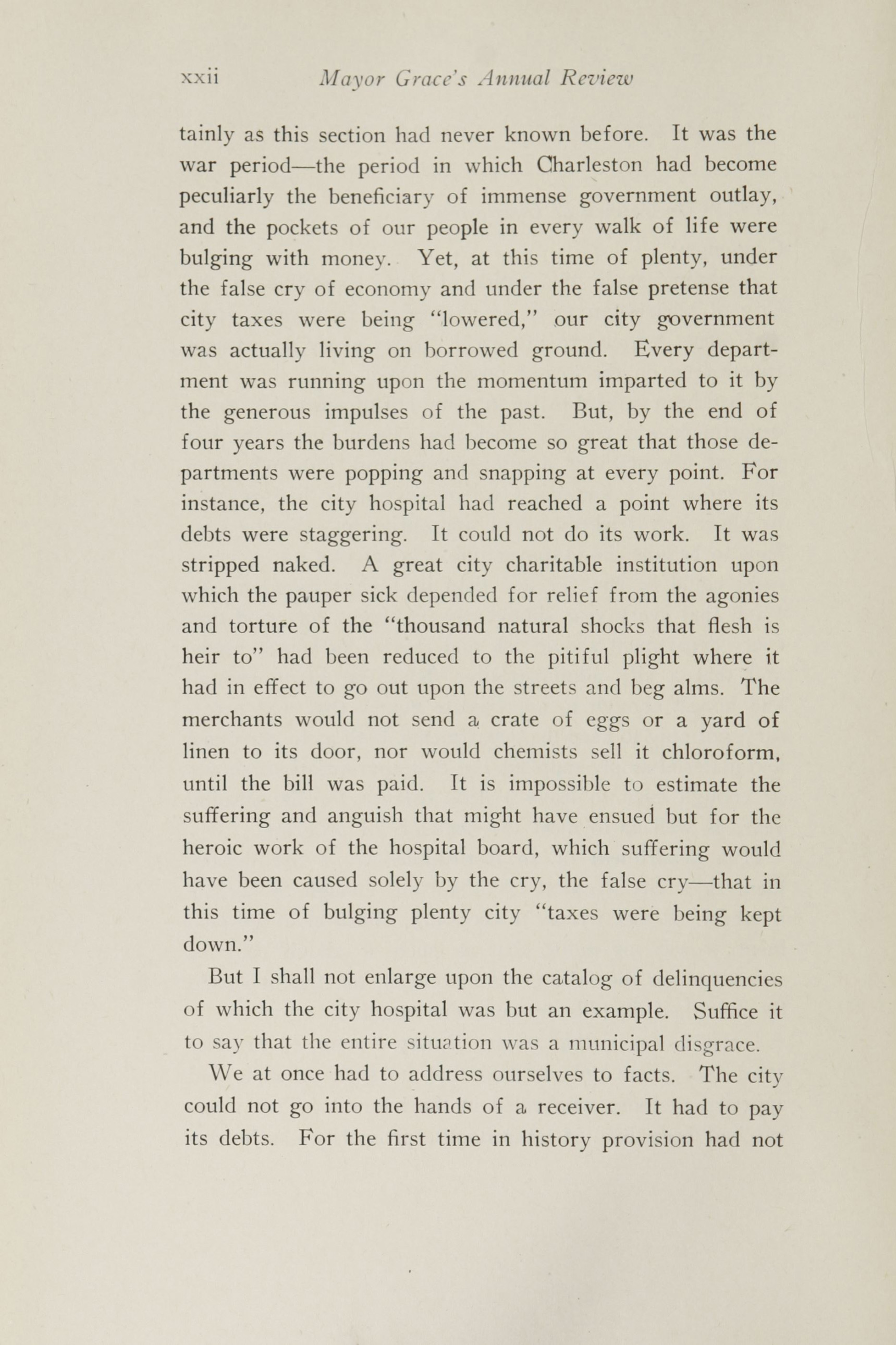 Charleston Yearbook, 1920, page xxii