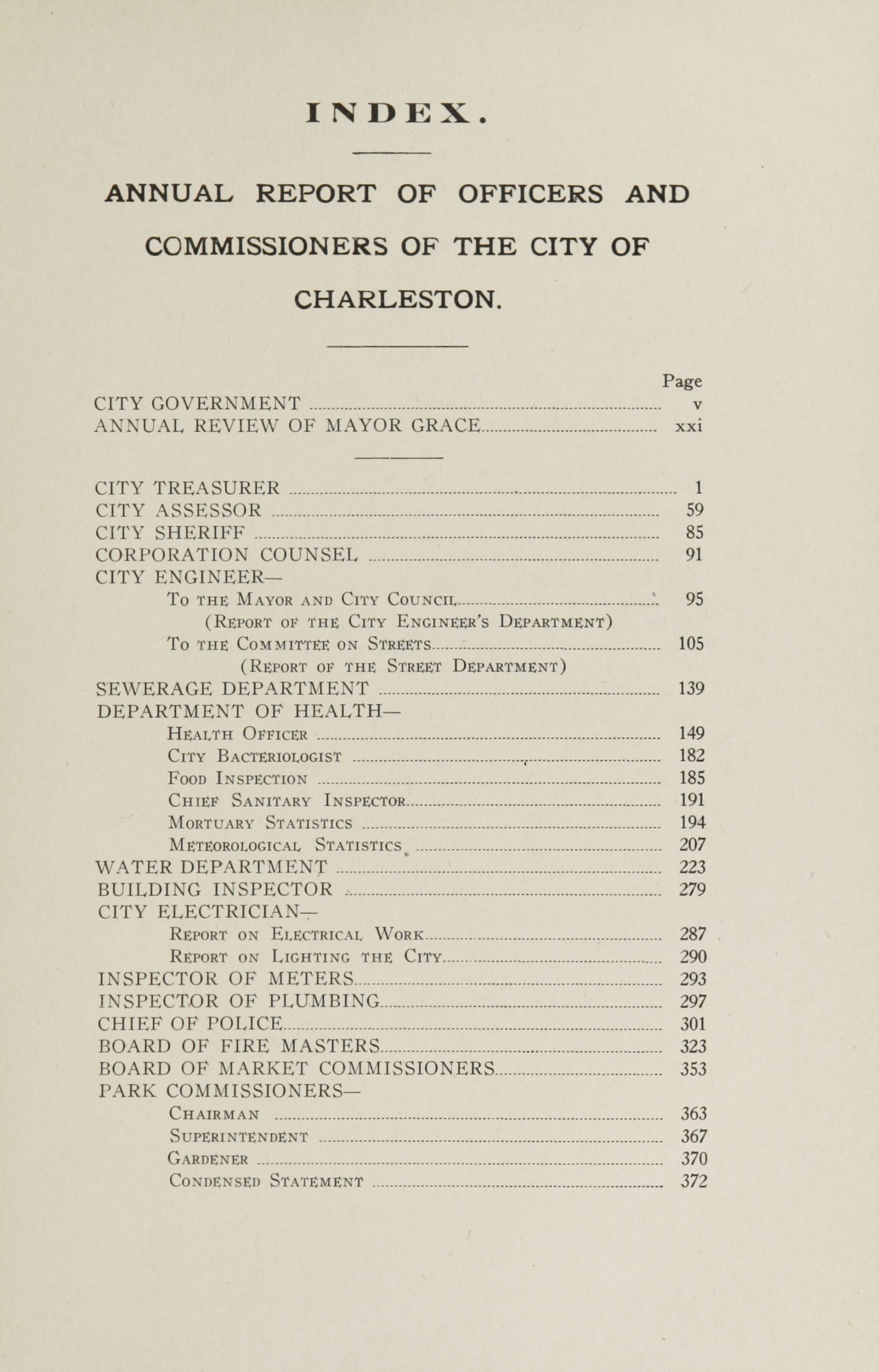 Charleston Yearbook, 1920, page xxix