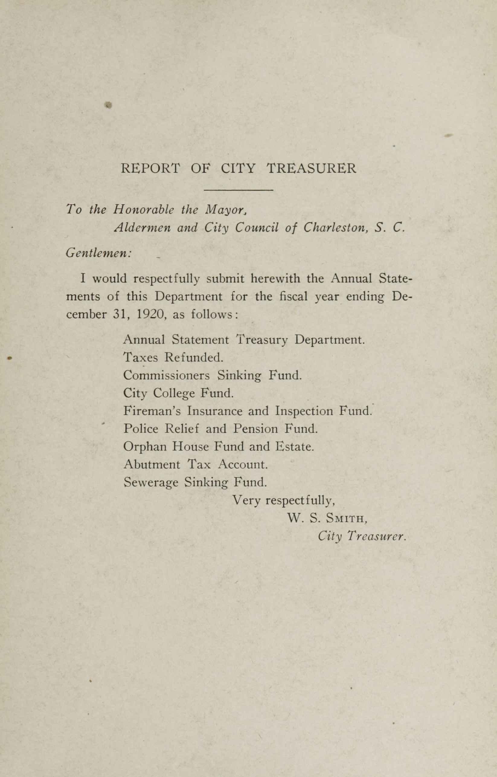 Charleston Yearbook, 1920, page 3