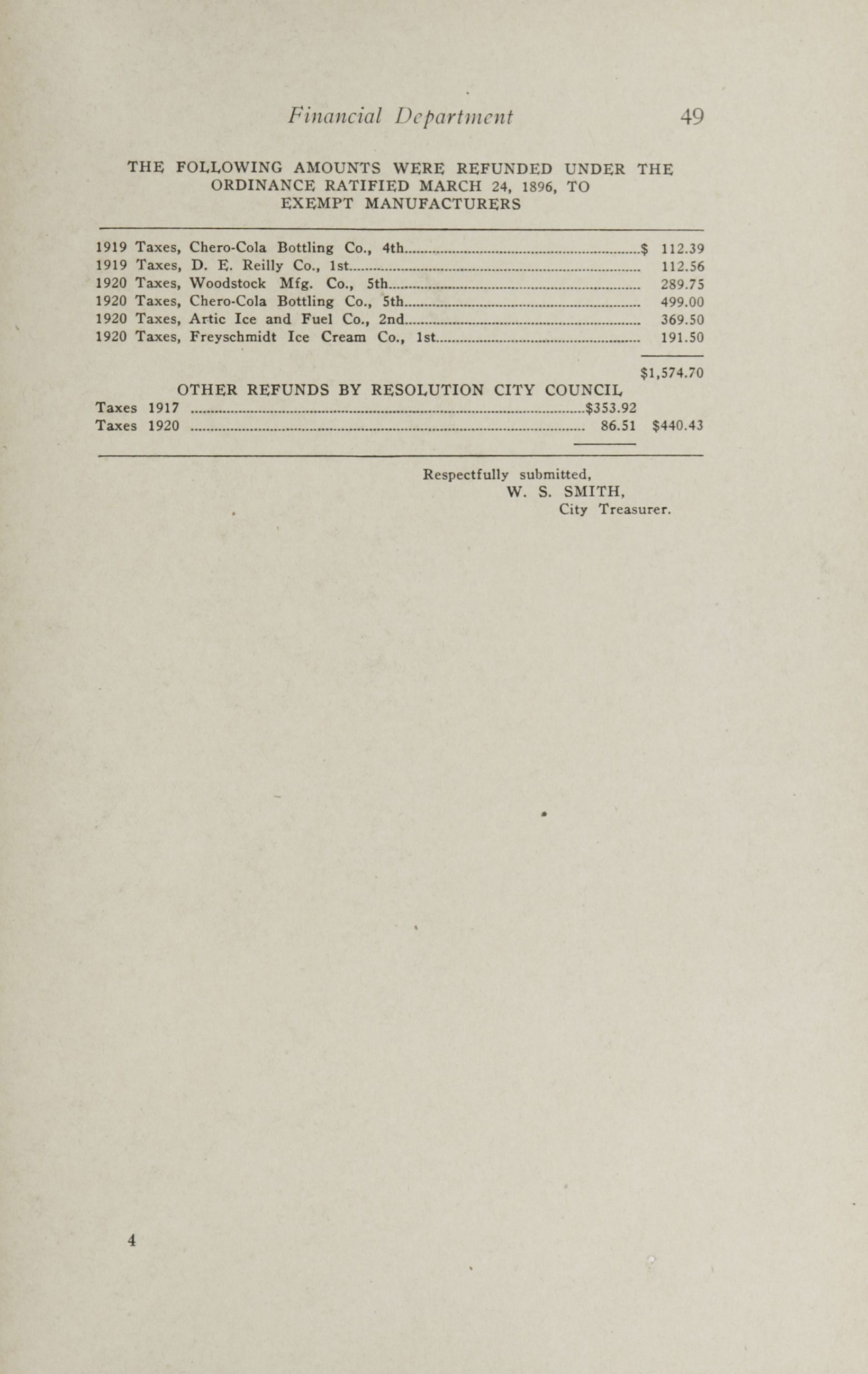 Charleston Yearbook, 1920, page 49