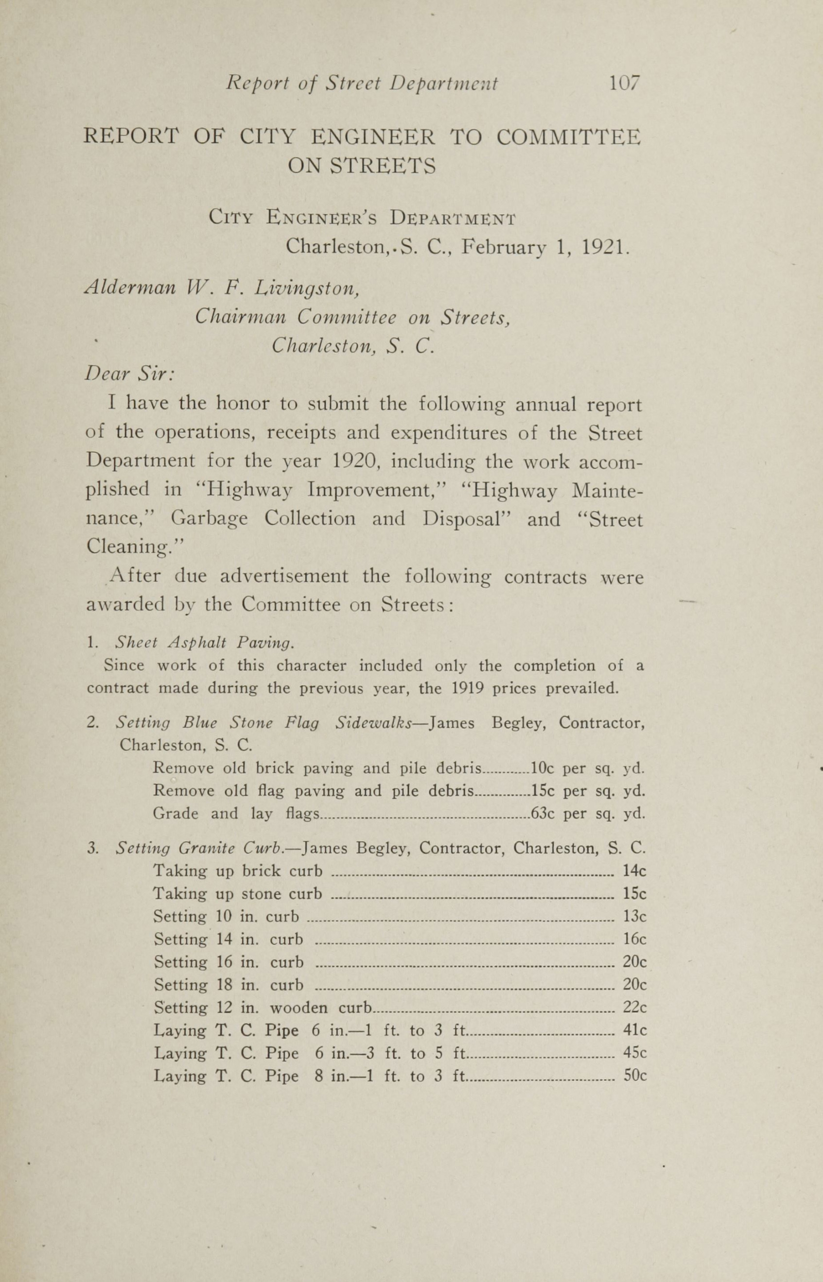 Charleston Yearbook, 1920, page 107